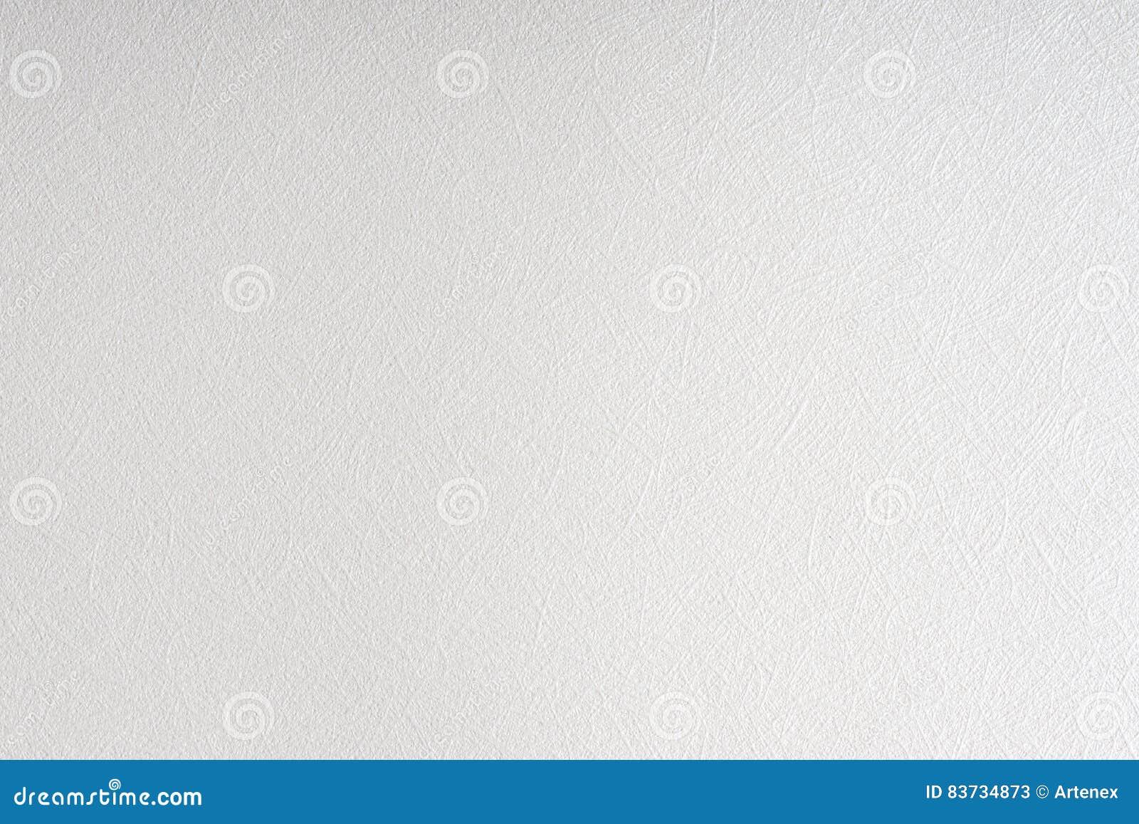 Fundo branco brilhante da textura do papel listrado Fios gravados, guita, teste padrão do laço