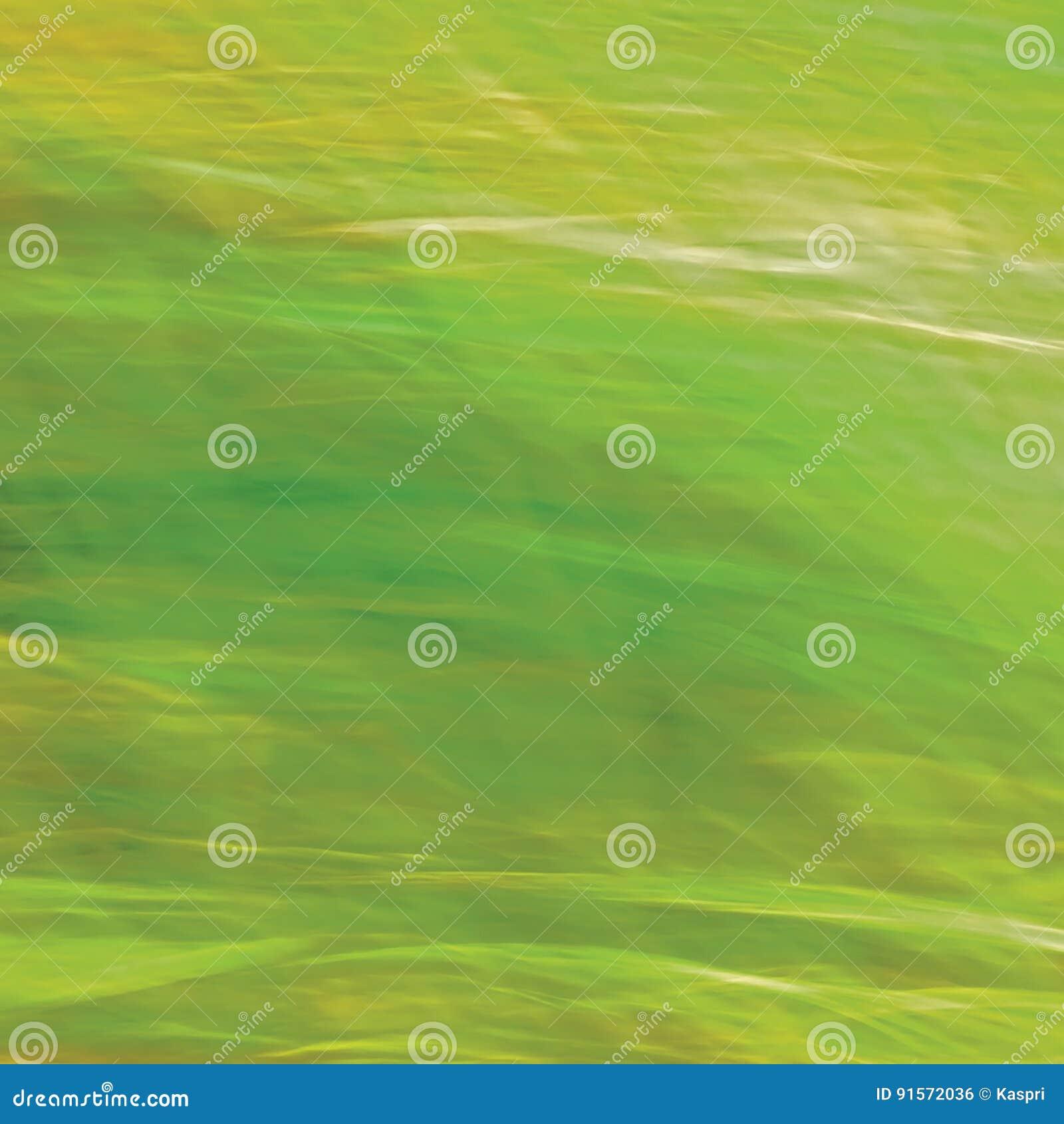 Fundo brilhante borrado movimento da grama de prado, verde abstrato, amarelo, espaço de Amber Horizontal Texture Pattern Copy