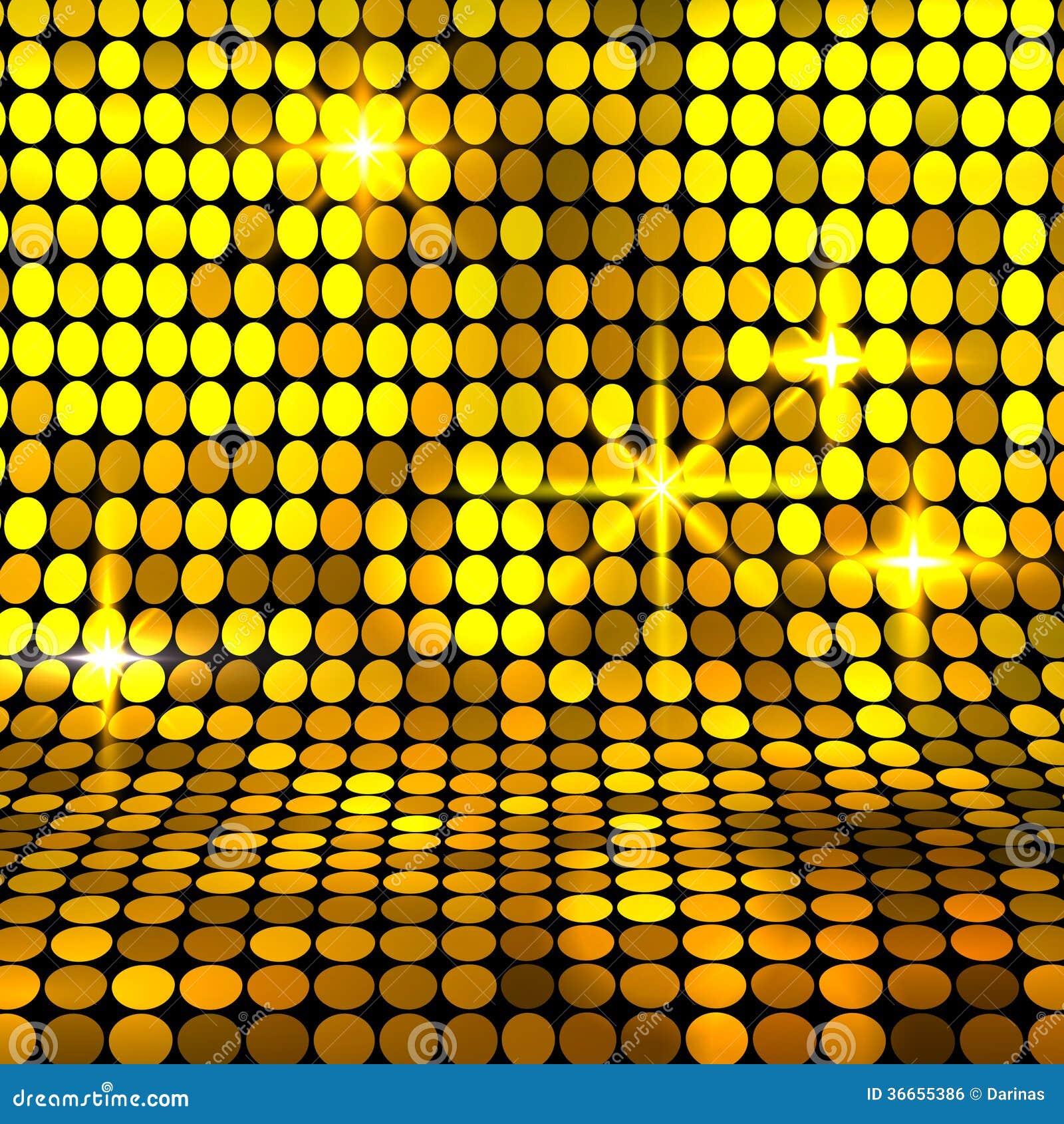 Fundo brilhante do mosaico do ouro