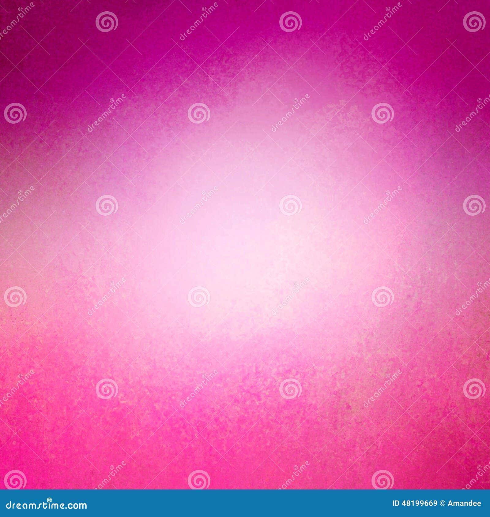 Fundo brilhante do rosa quente com beira roxa e disposição afligida da textura do vintage
