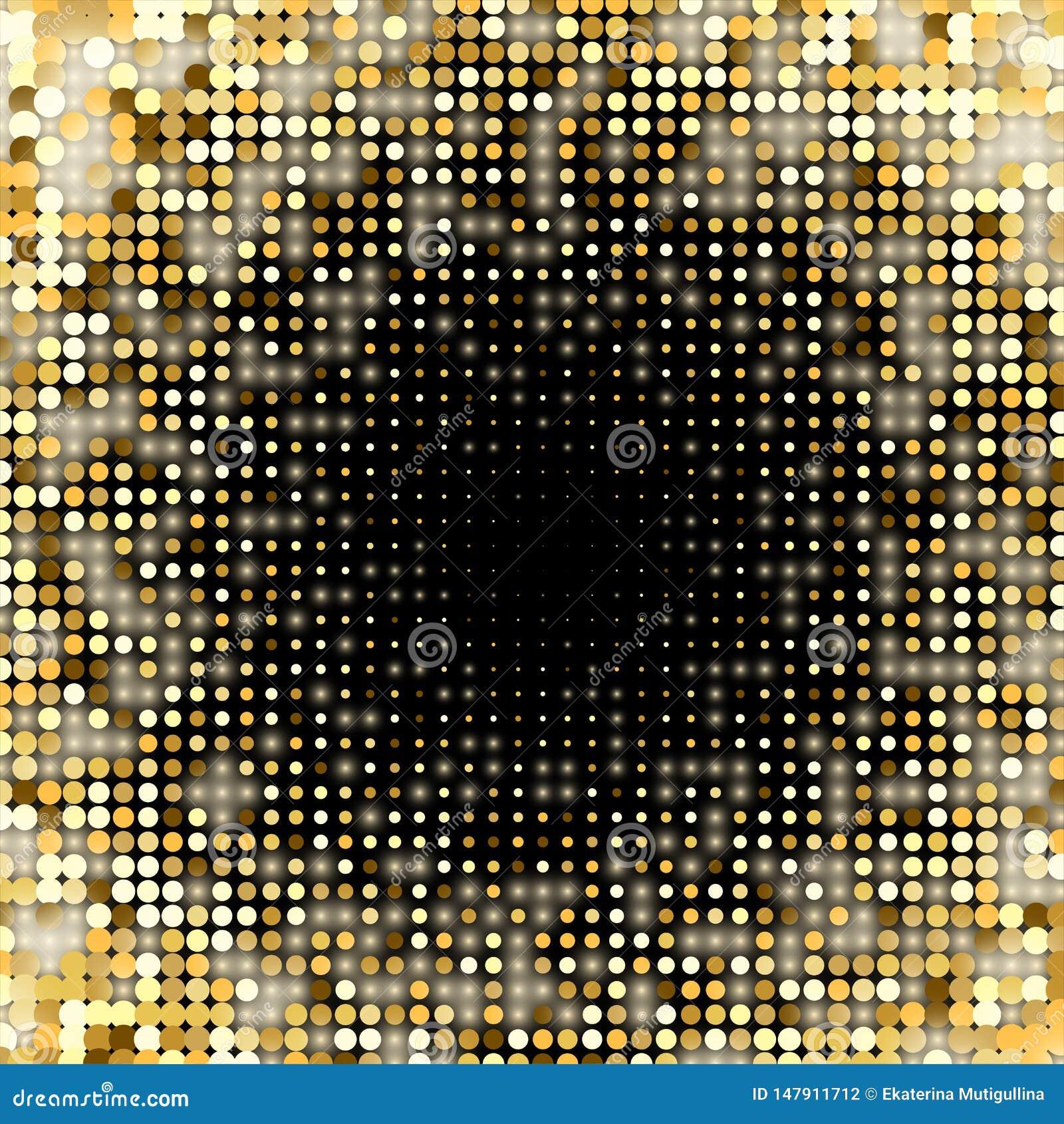 Fundo brilhante dos paillettes dourados