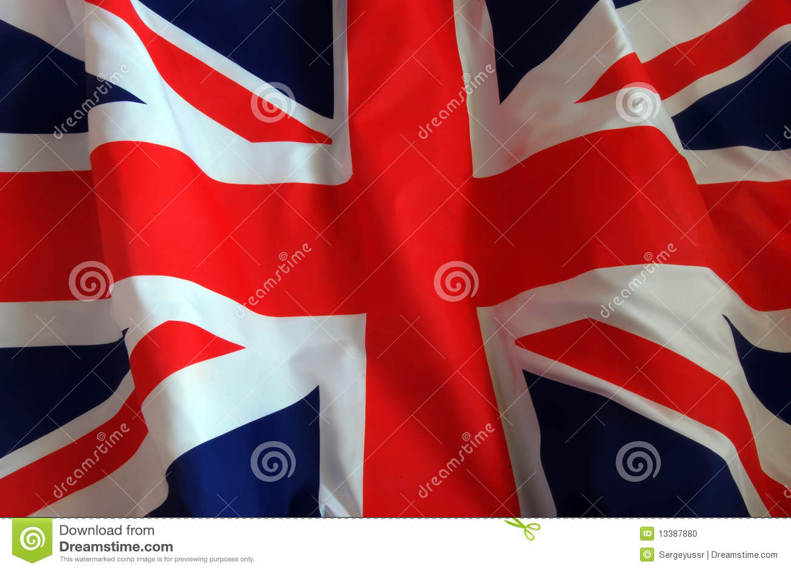 Fundo britânico da bandeira
