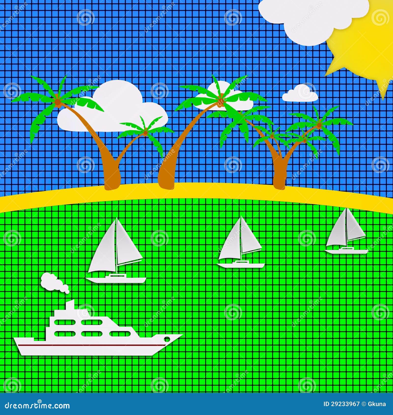 Download Fundo Checkered ilustração stock. Ilustração de ícone - 29233967