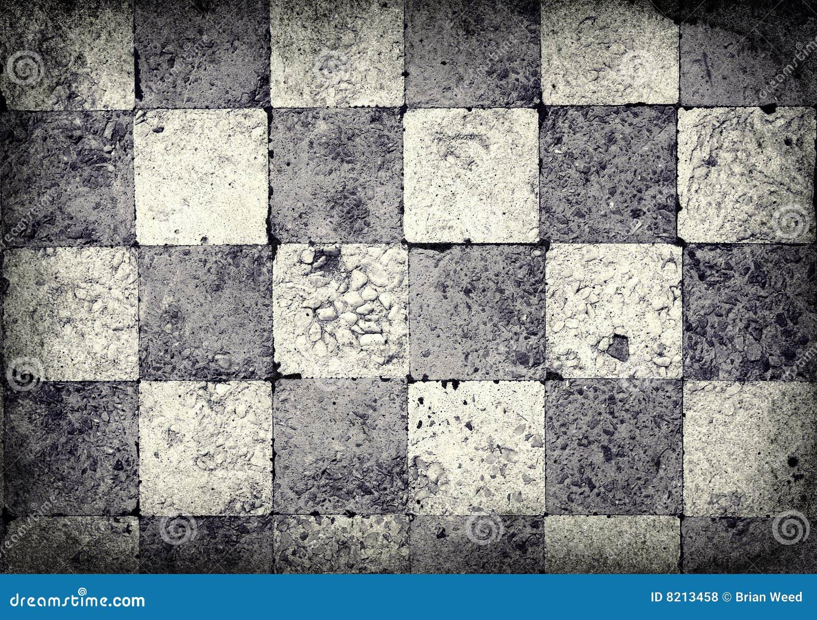 Fundo Checkered de Grunge