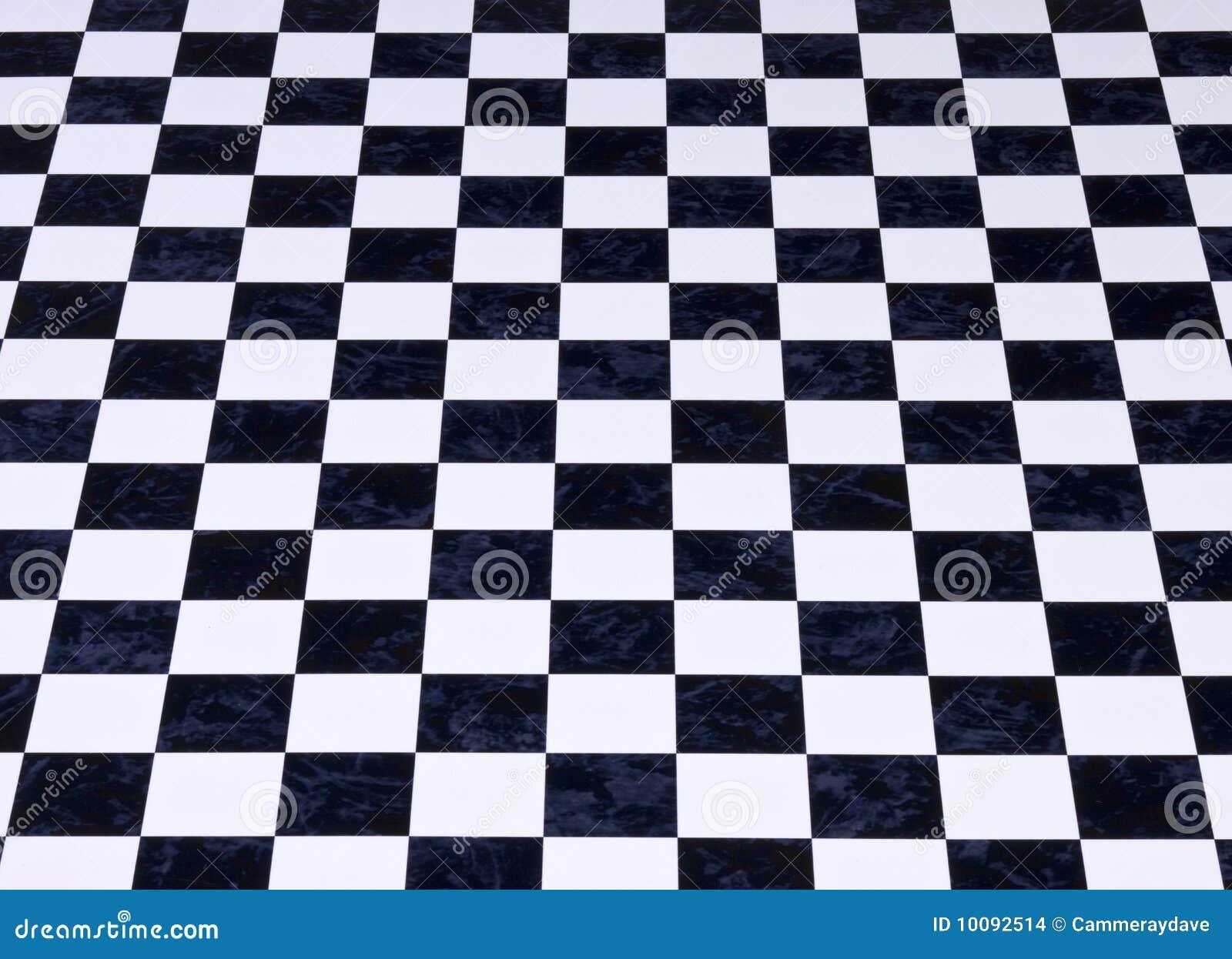 Fundo Checkered de mármore