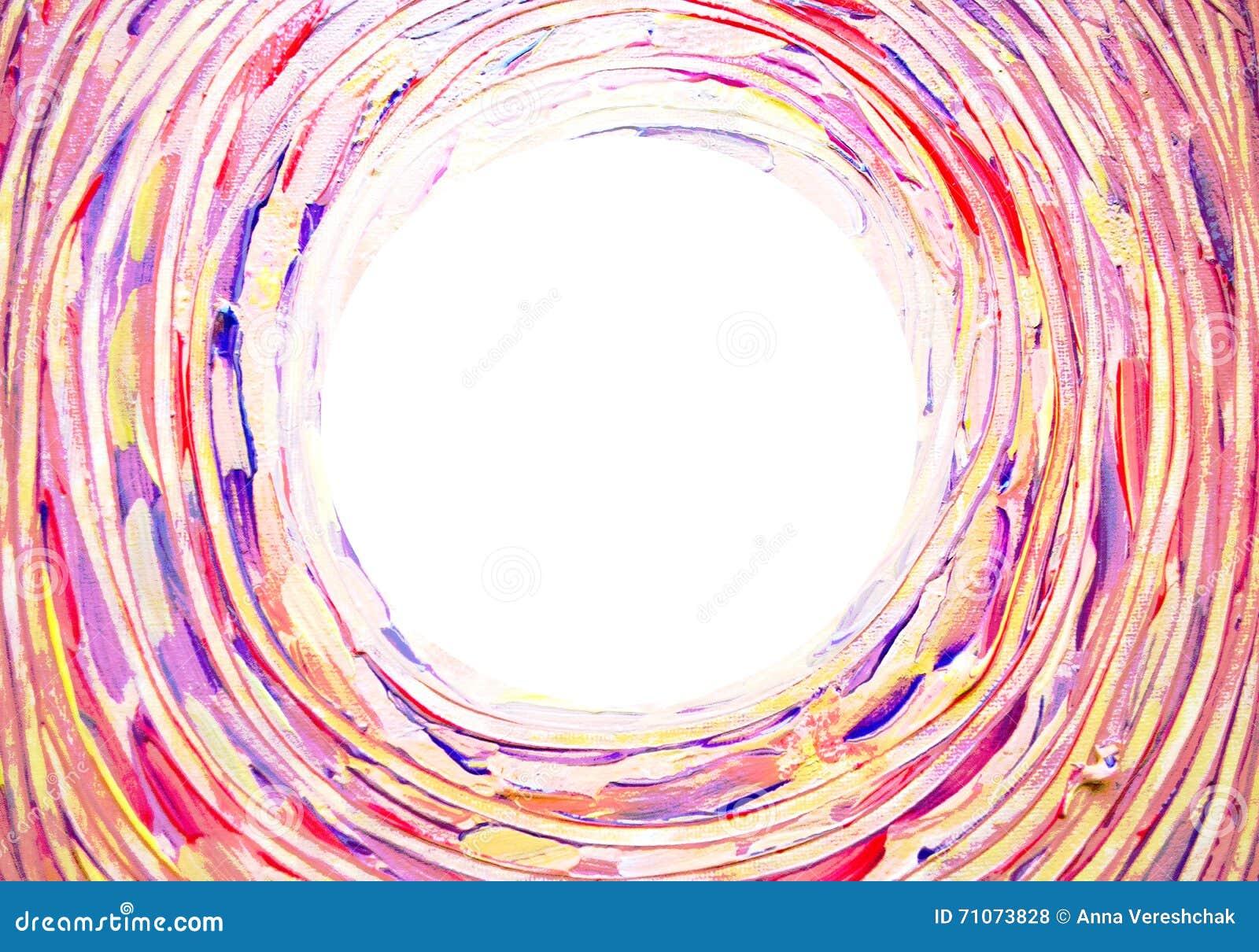 Fundo claro abstrato Concêntrica, espiral, torcendo, a escova de giro afaga linhas com espaço para seu texto
