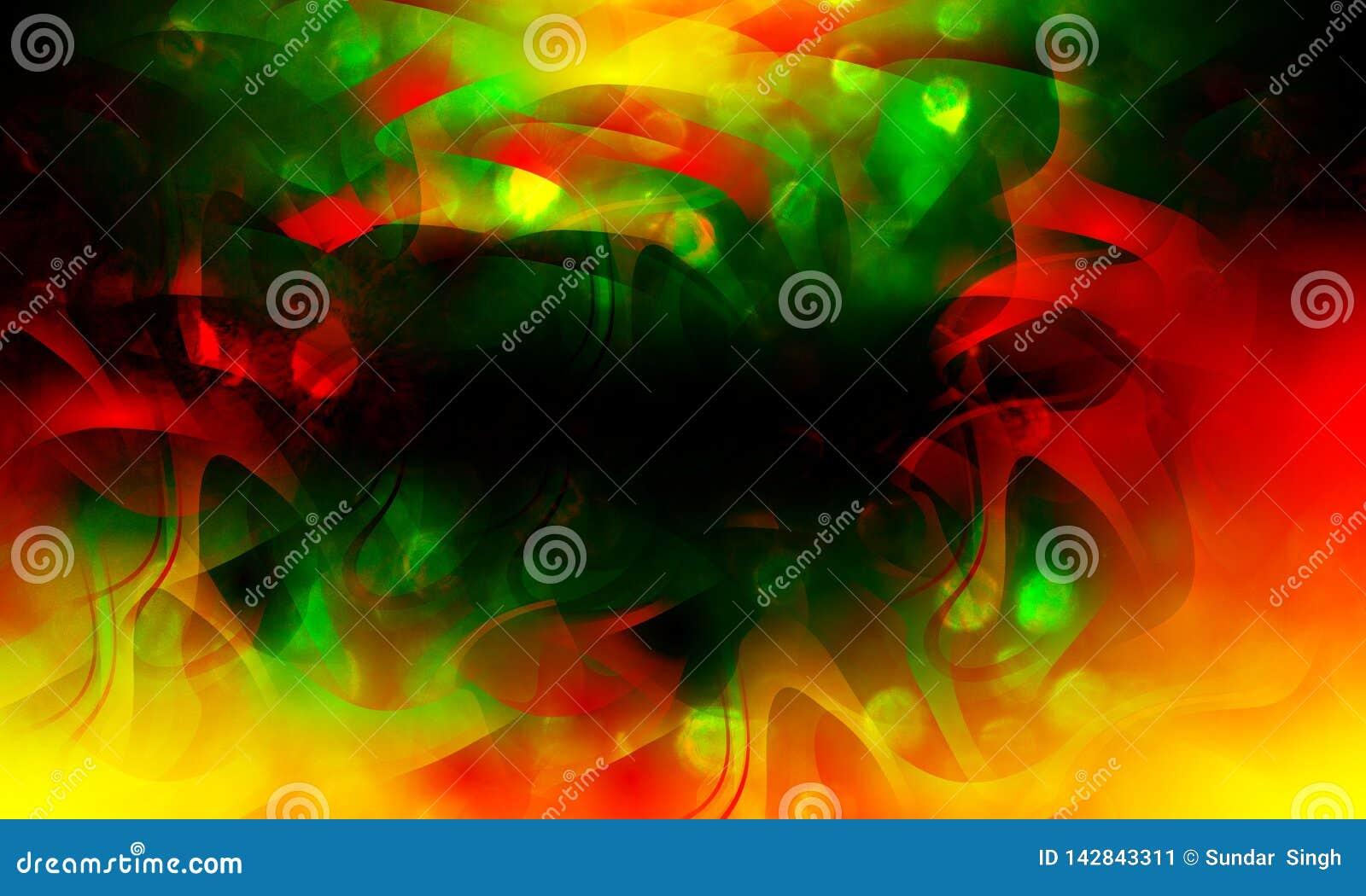 Fundo colorido abstrato da onda, faísca mágica do Natal, pontos claros, efeito quebrado do vetor Papel de parede do fundo
