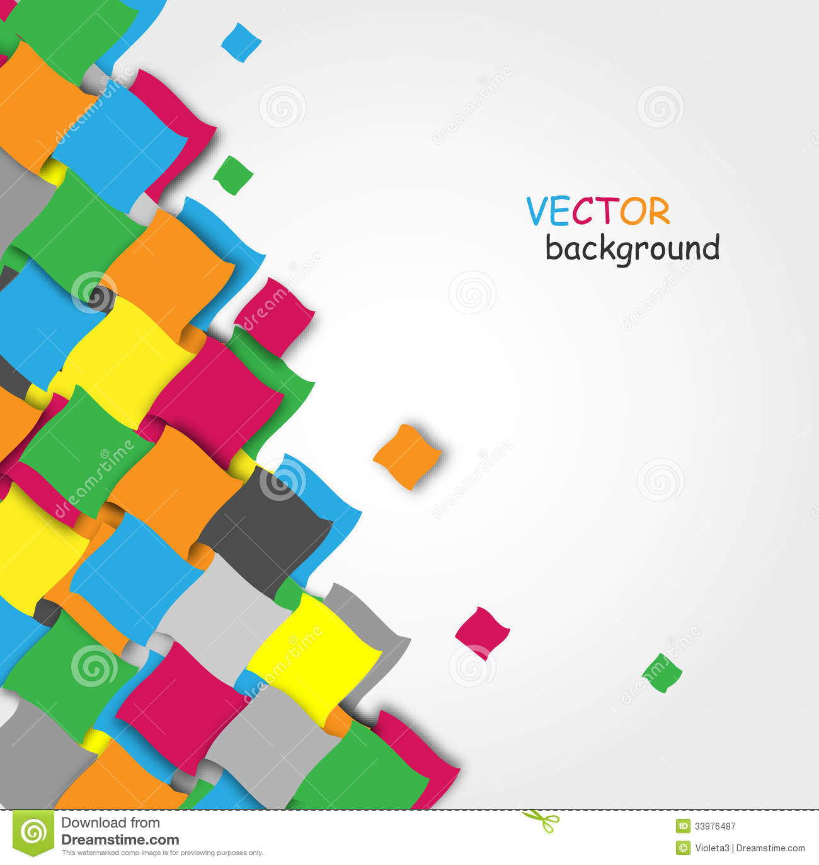 Fundo colorido abstrato do vetor ilustra o do vetor Blueprint designer free