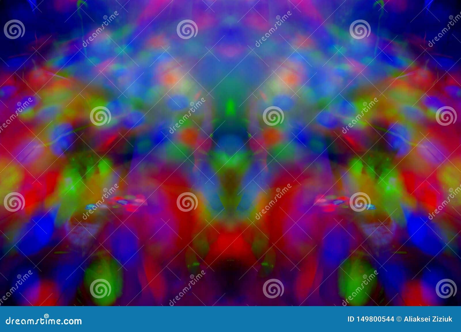Fundo colorido abstrato, textura, simétrica