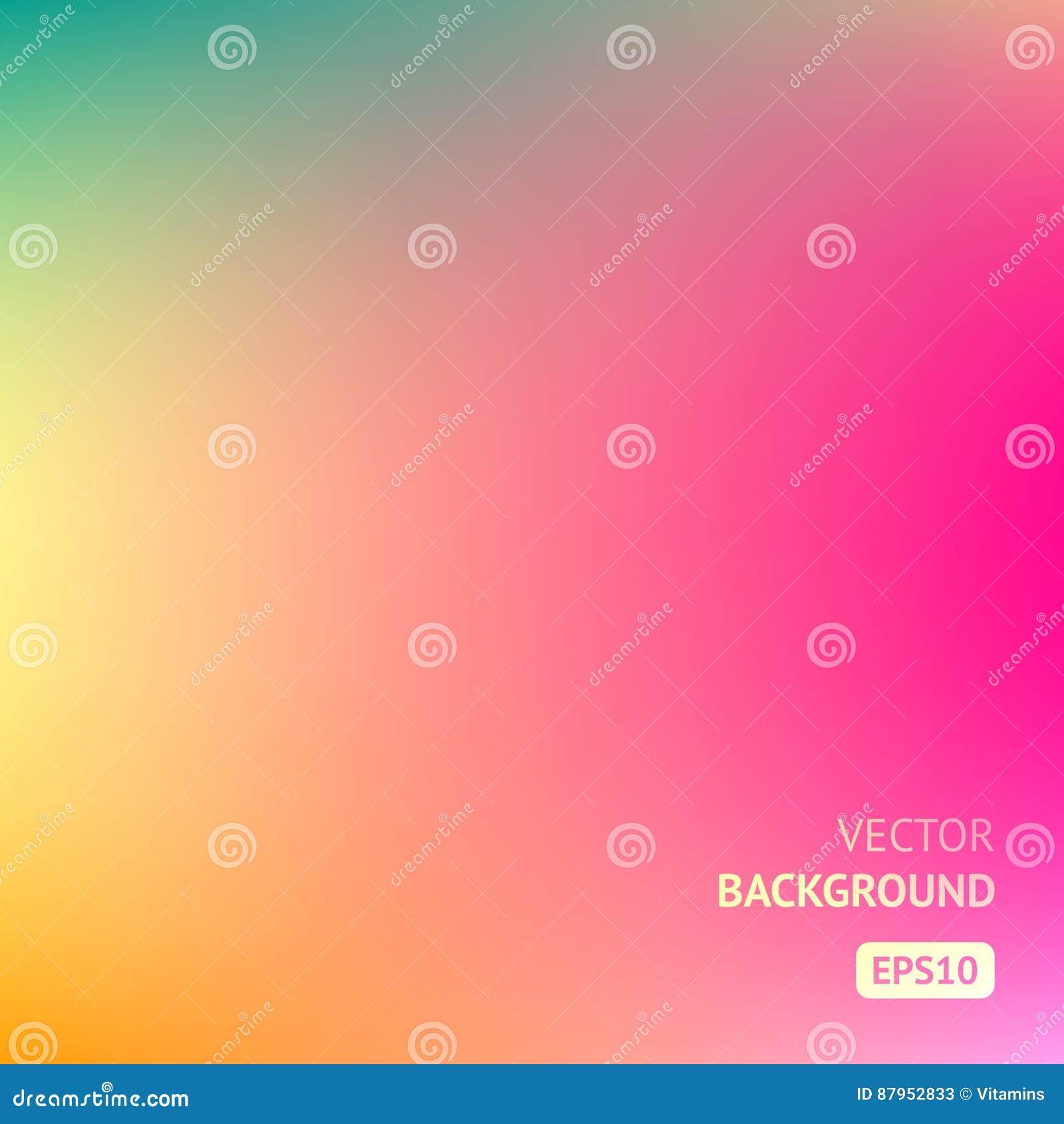 Fundo colorido da malha do inclinação em cores brilhantes do arco-íris Imagem borrada sumário