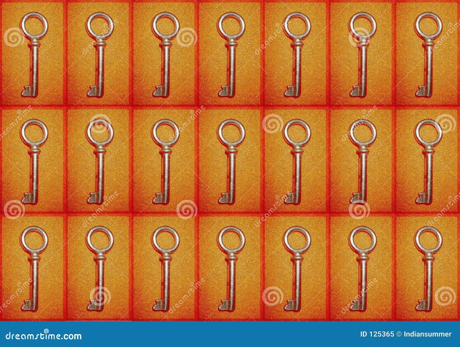Fundo com chaves