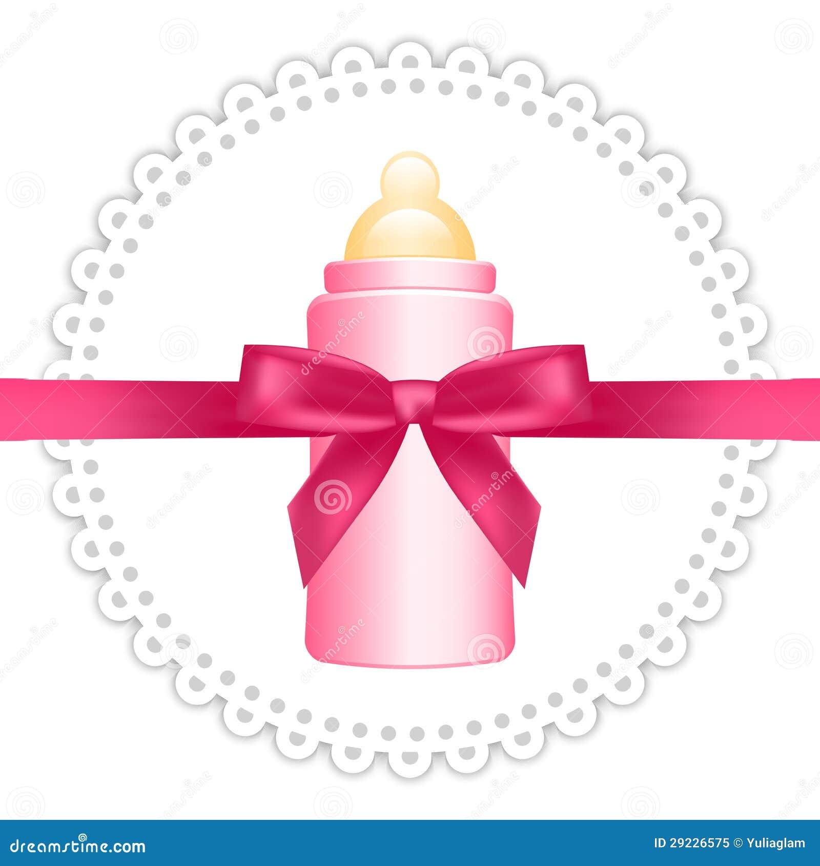 Download Fundo com garrafa de bebê ilustração do vetor. Ilustração de líquido - 29226575