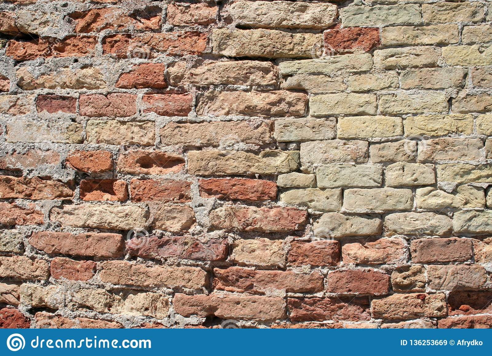 Fundo composto da parede de pedras