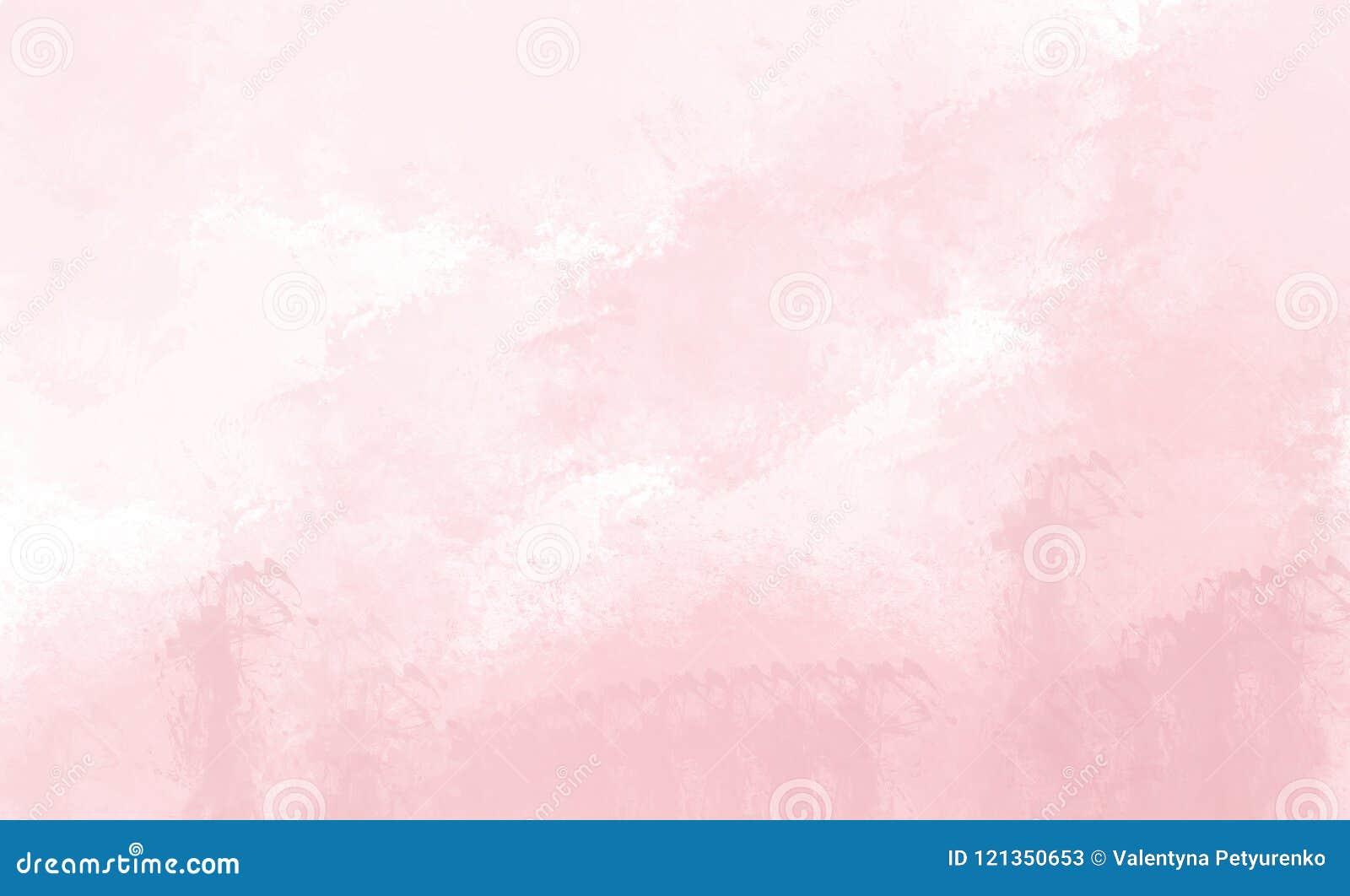 Fundo cor-de-rosa da aguarela Desenho de Digitas