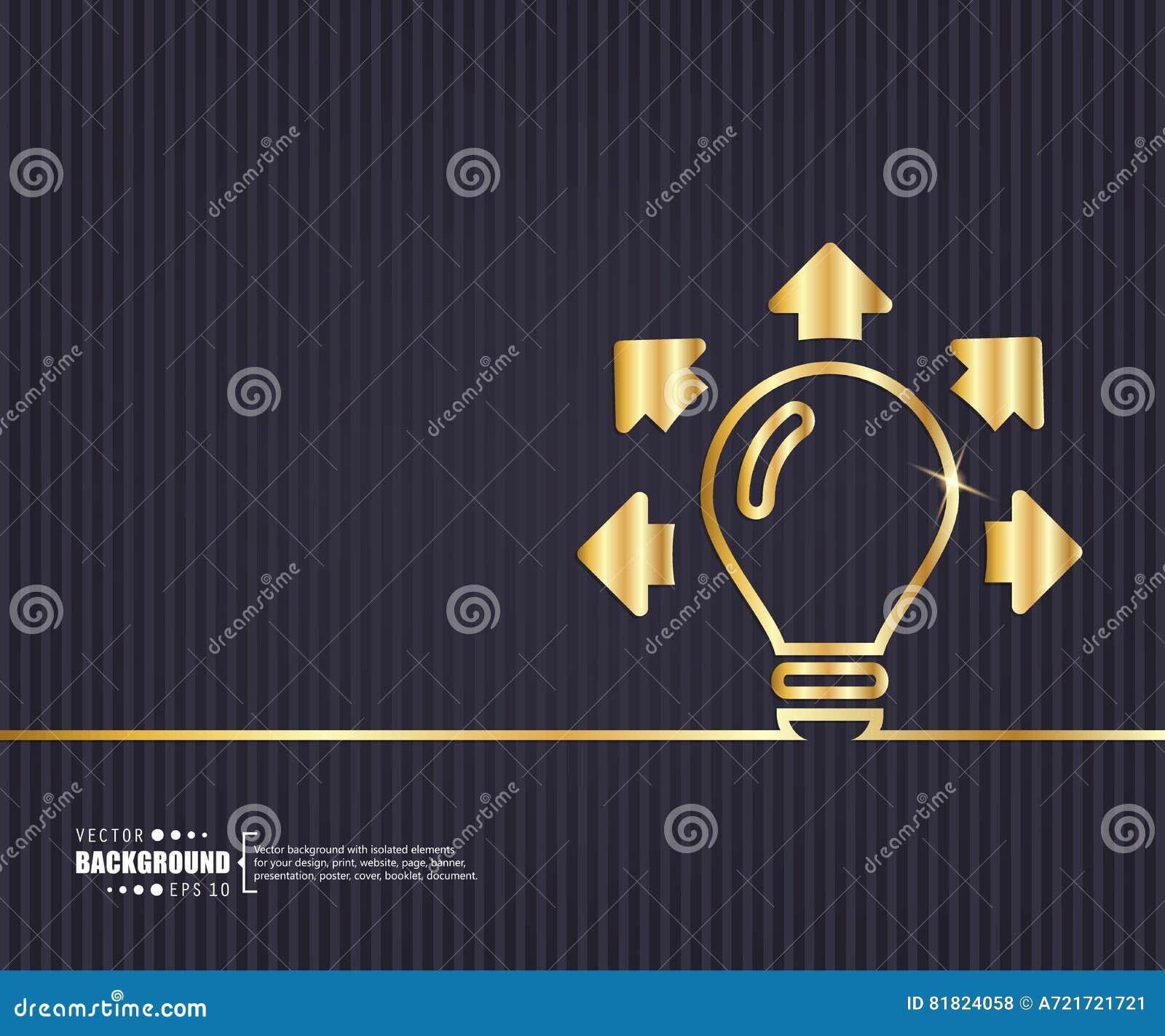 Fundo criativo abstrato do vetor do conceito Para a Web e aplicações móveis, projeto do molde da ilustração, negócio
