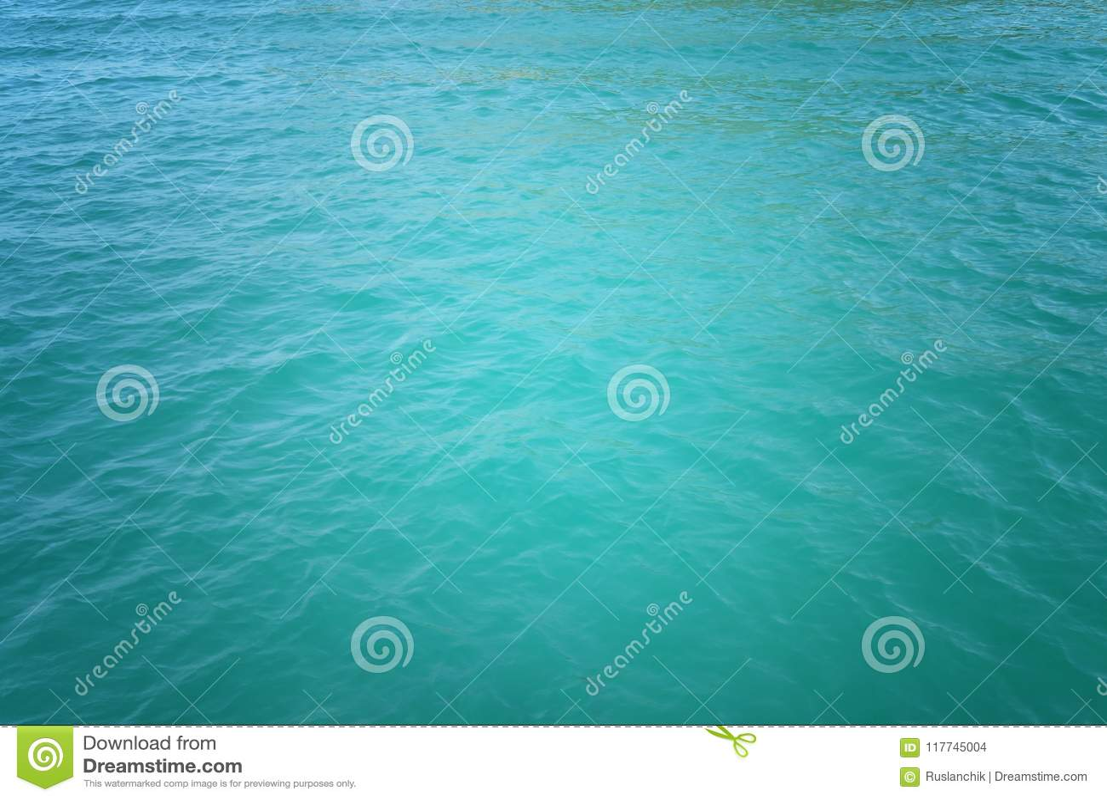 Fundo da água do oceano