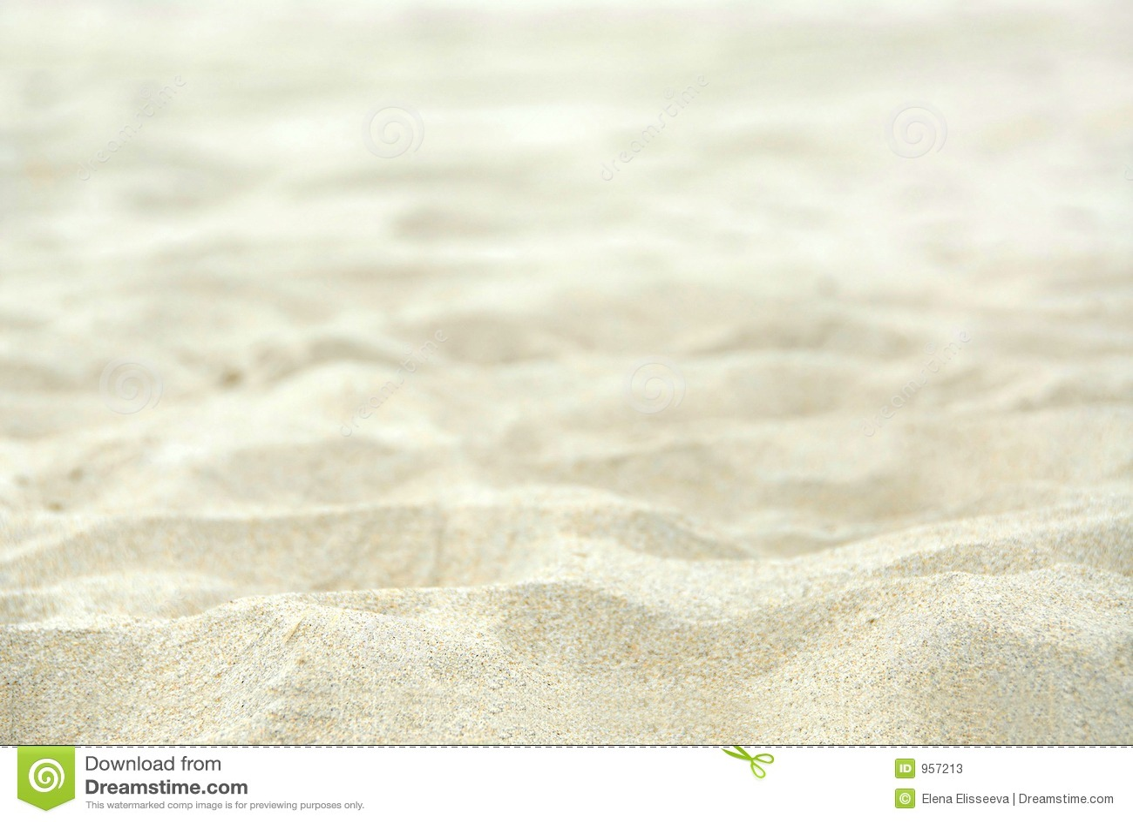 Fundo da areia