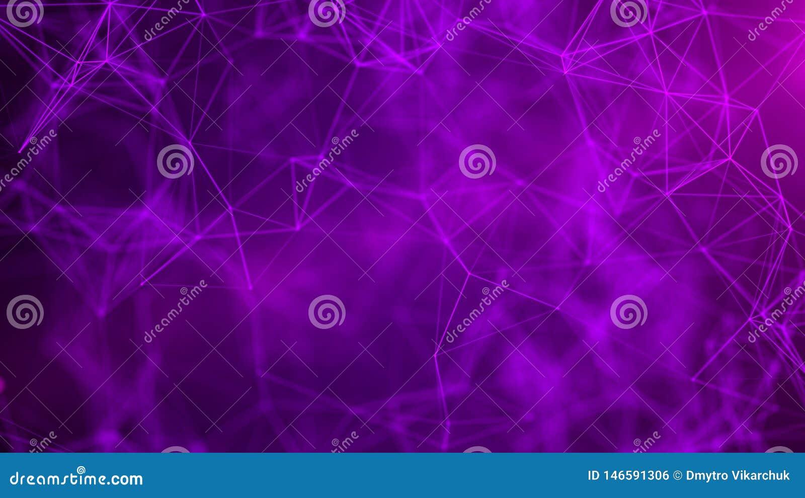 Fundo da ci?ncia abstrata Tecnologia futurista 3D Fundo abstrato da m?sica Visualiza??o grande dos dados rendi??o 3d