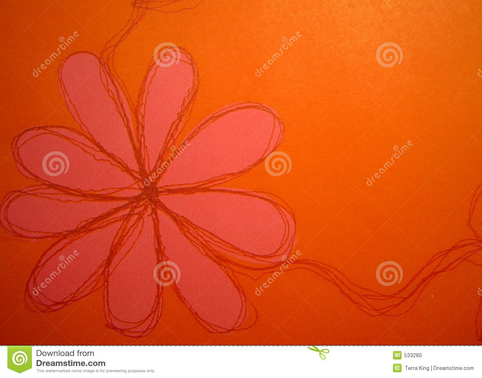 Fundo da flor