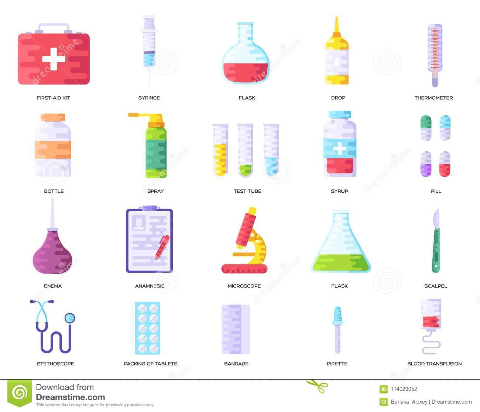 Fundo da informação da medicina Grupo infographic clínico médico do conceito Páginas modernas das ilustrações da disposição