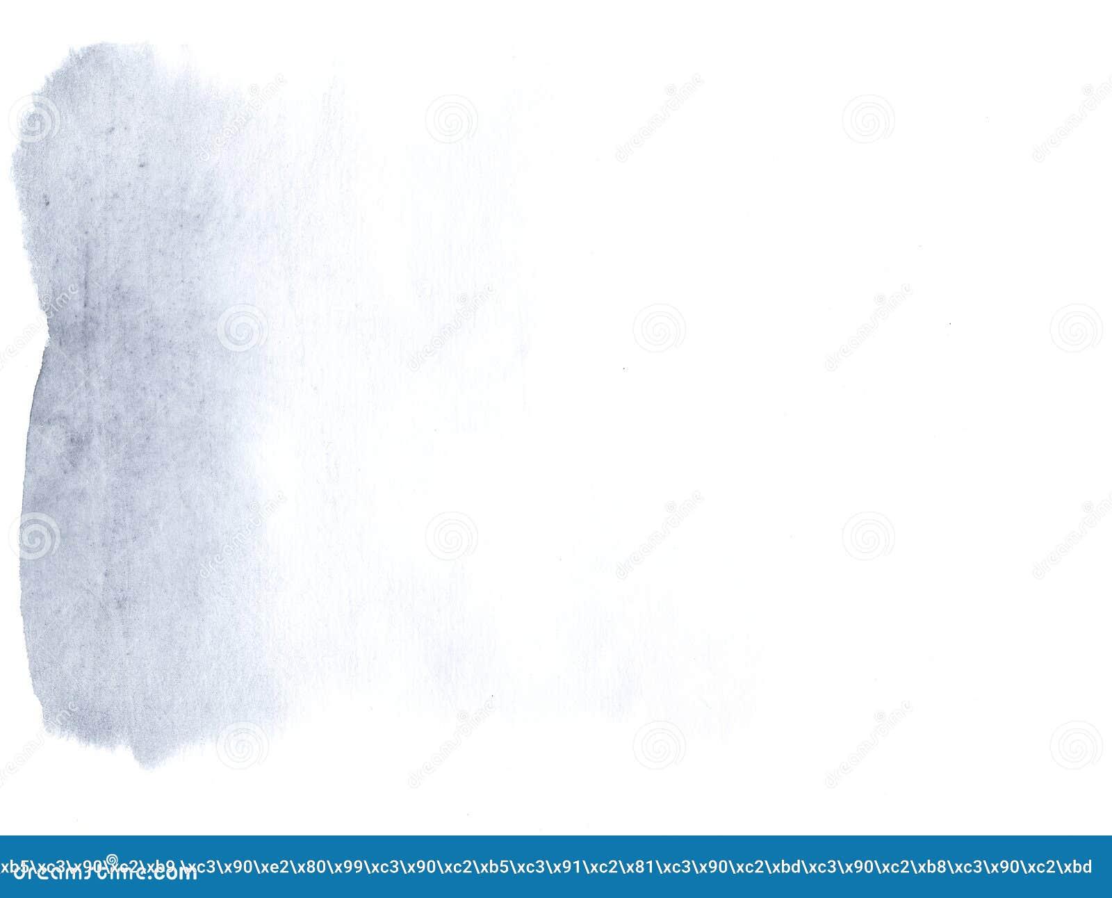 Fundo da lona da aquarela de Airy Blue