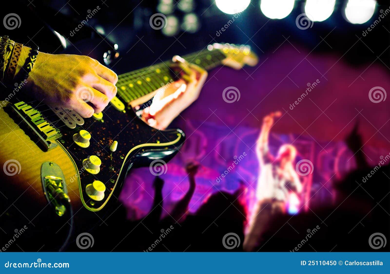 Fundo da música a o vivo