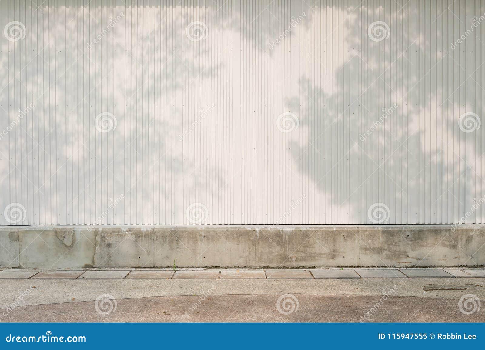 Fundo da parede da rua, fundo industrial, urba vazio do grunge