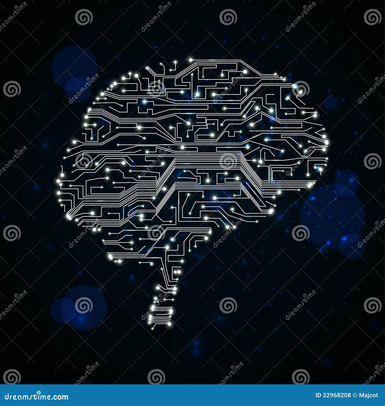 Circuito Gif : Fundo da placa de circuito ilustração do vetor ilustração de