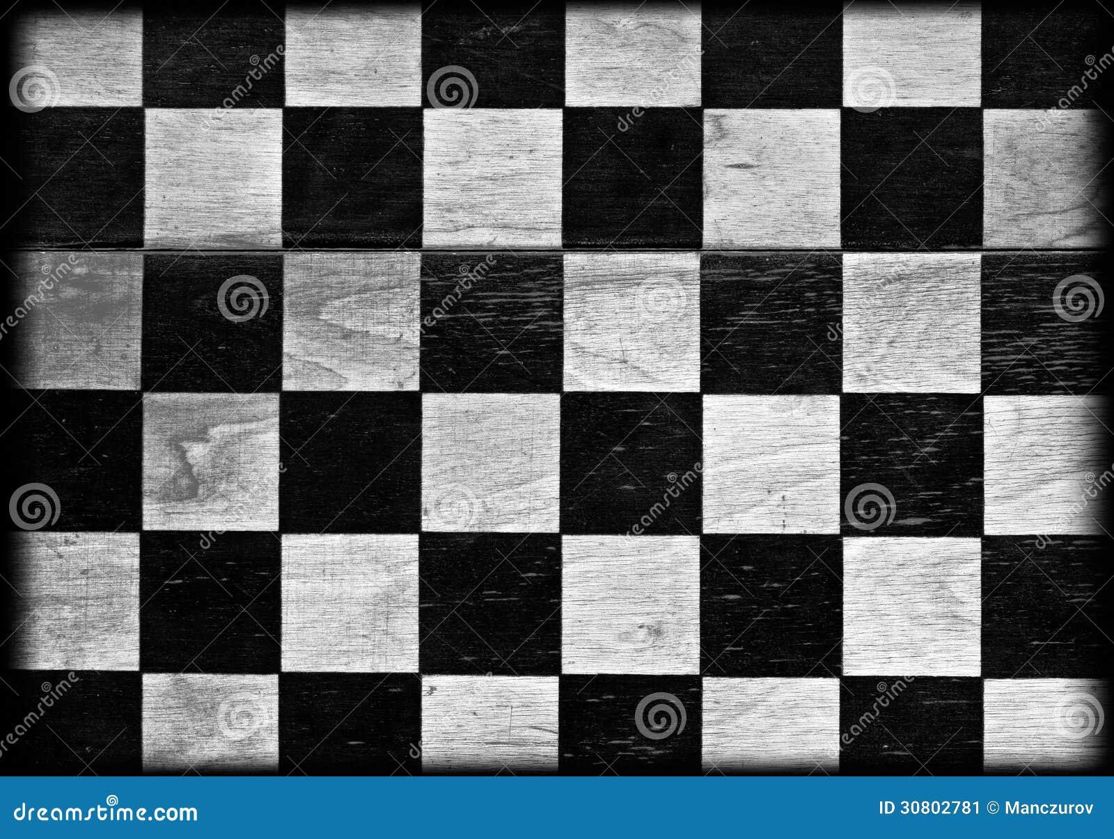 Fundo da placa de xadrez