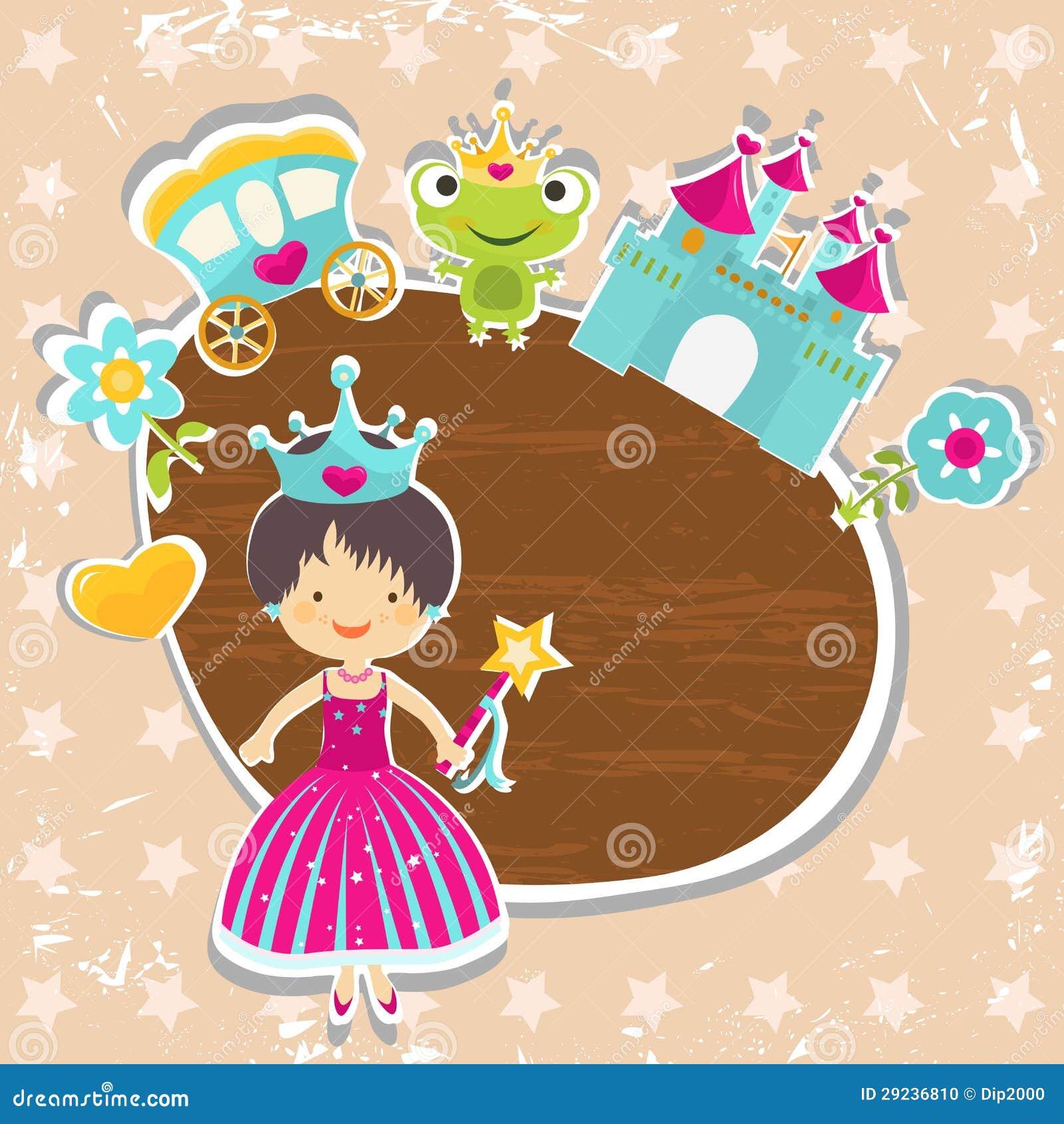 Download Fundo da princesa ilustração do vetor. Ilustração de fairy - 29236810