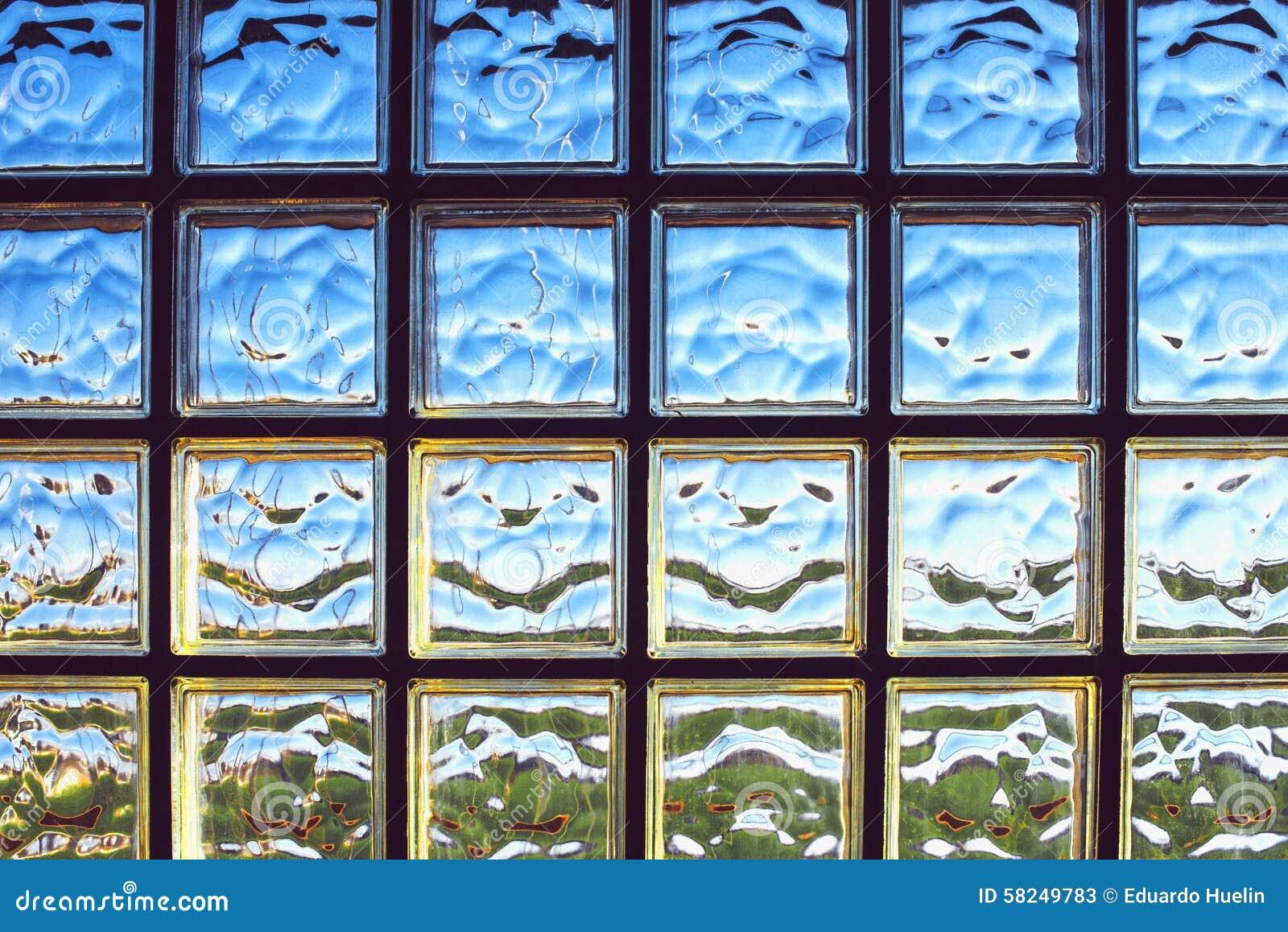 Fundo Da Textura Da Parede De Tijolo De Vidro Imagem De Stock  -> Tijolo De Vidro Marrom