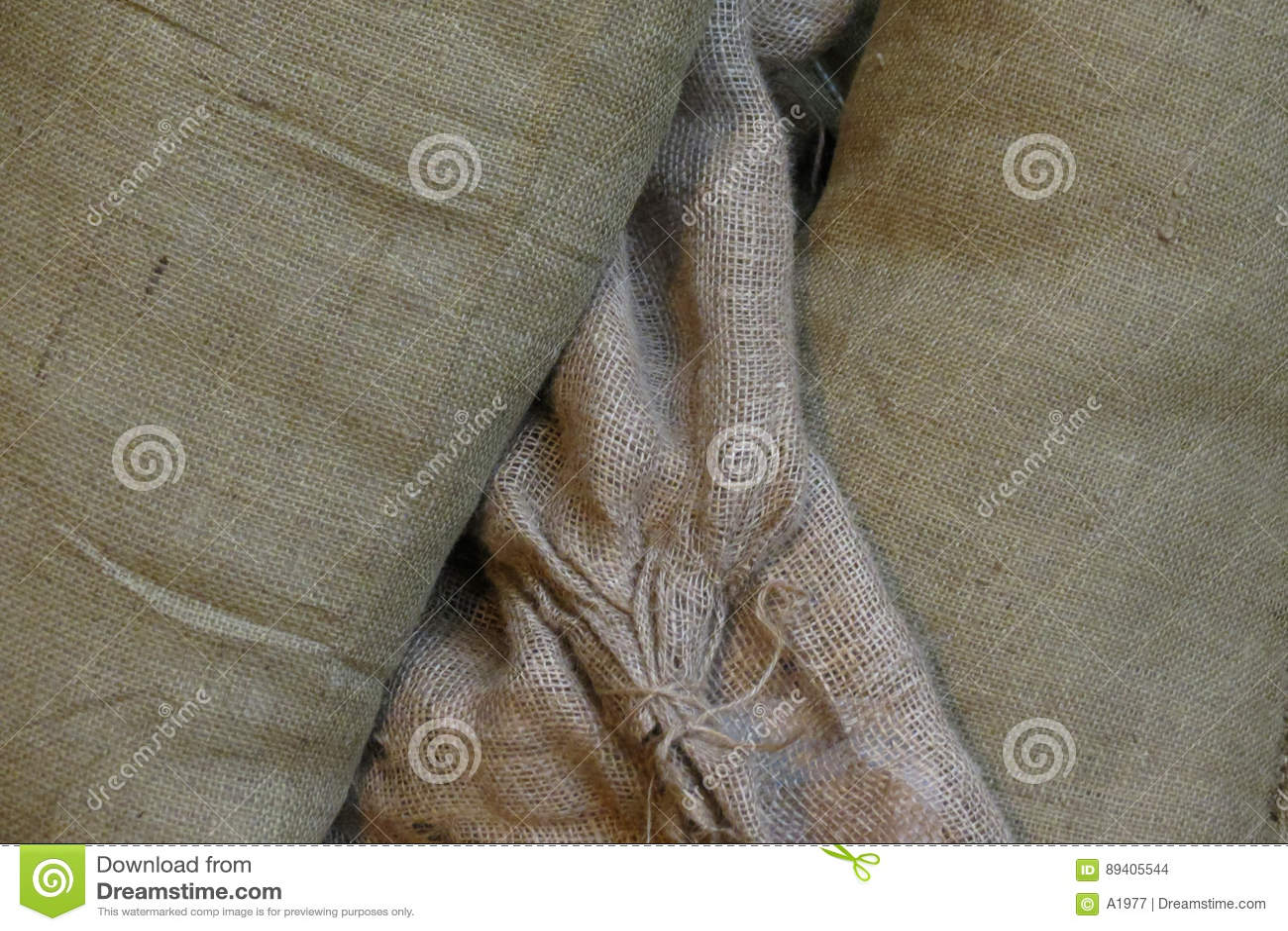 Fundo da textura da tela de Brown