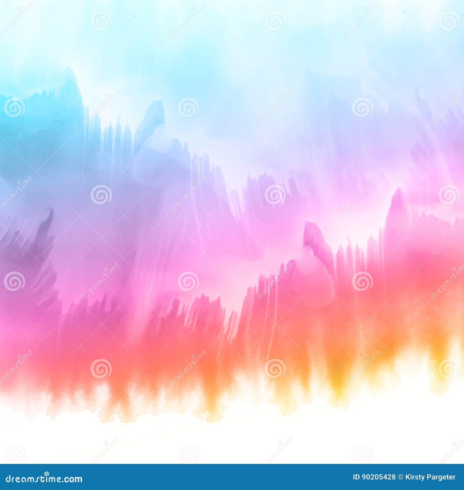 Fundo da textura do Watercolour