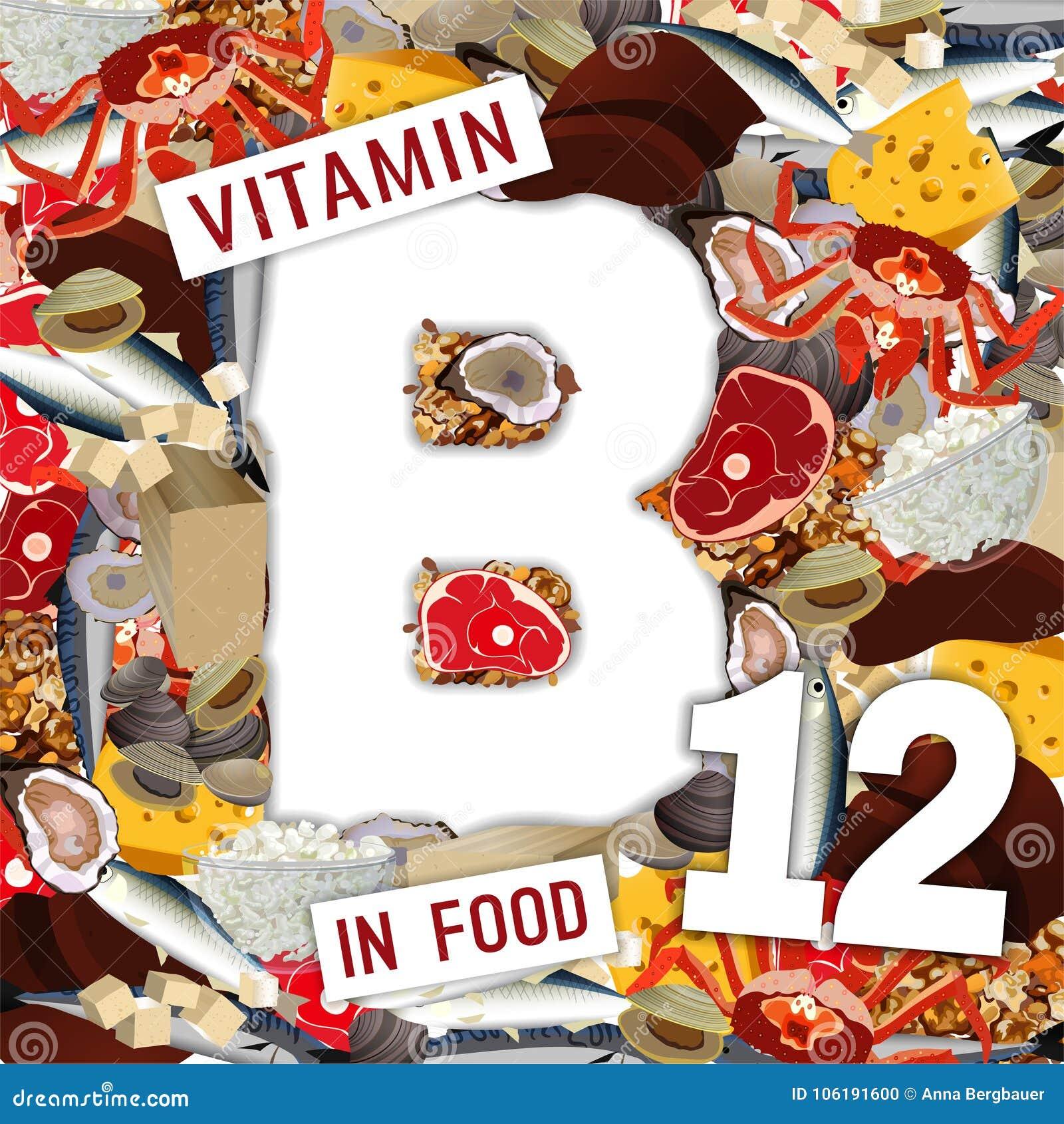 vitamina b12 alimentos que contem