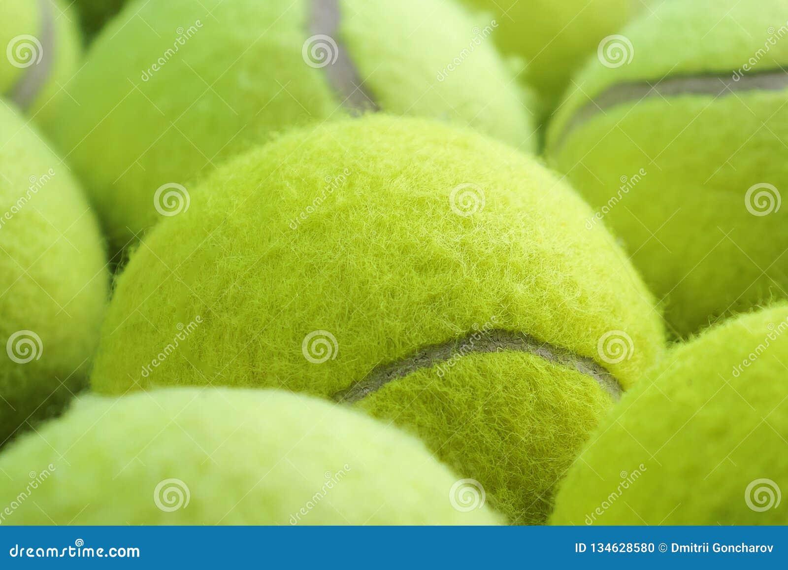 Fundo das esferas de tênis