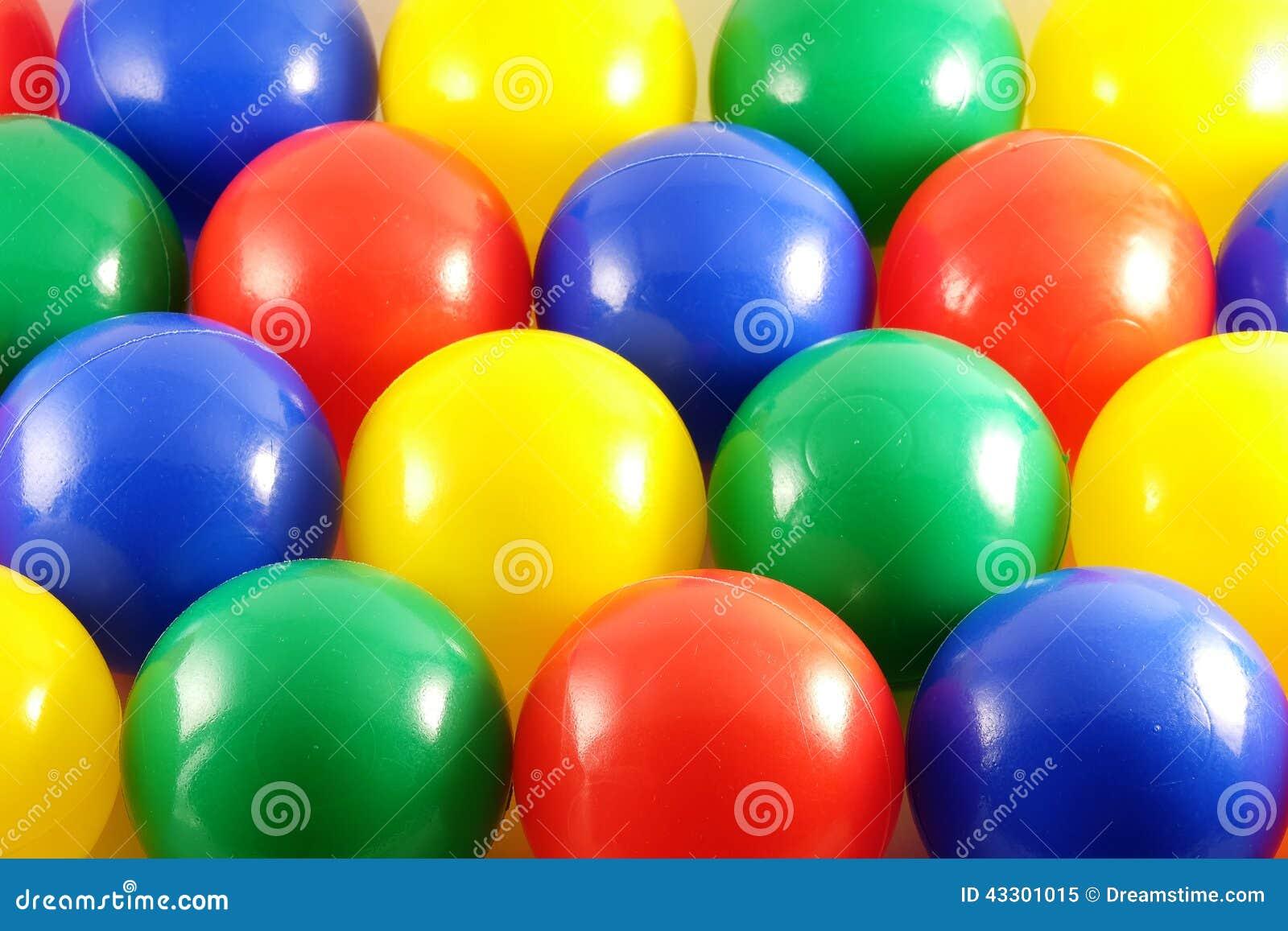 Fundo de bolas multi-coloridas