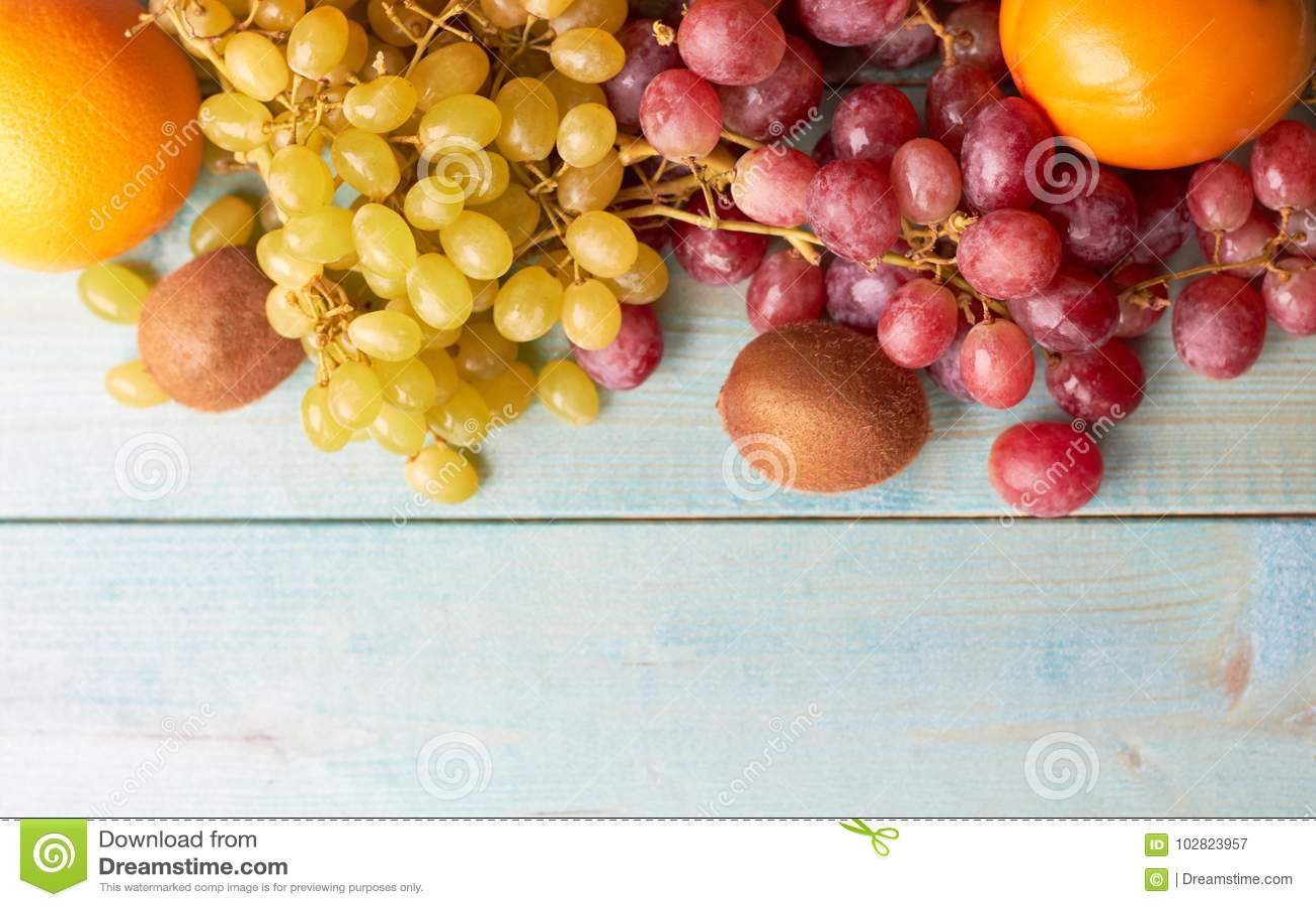 Fundo de frutos suculentos