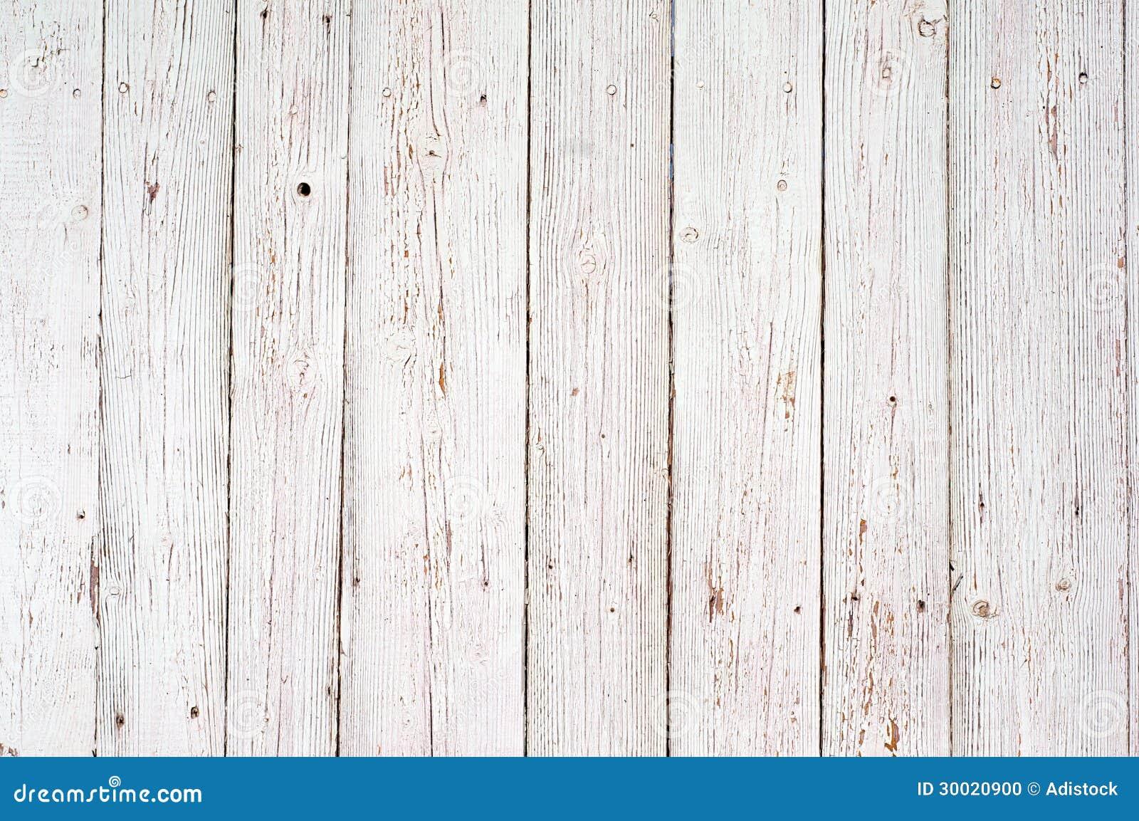 Fundo de madeira branco da textura