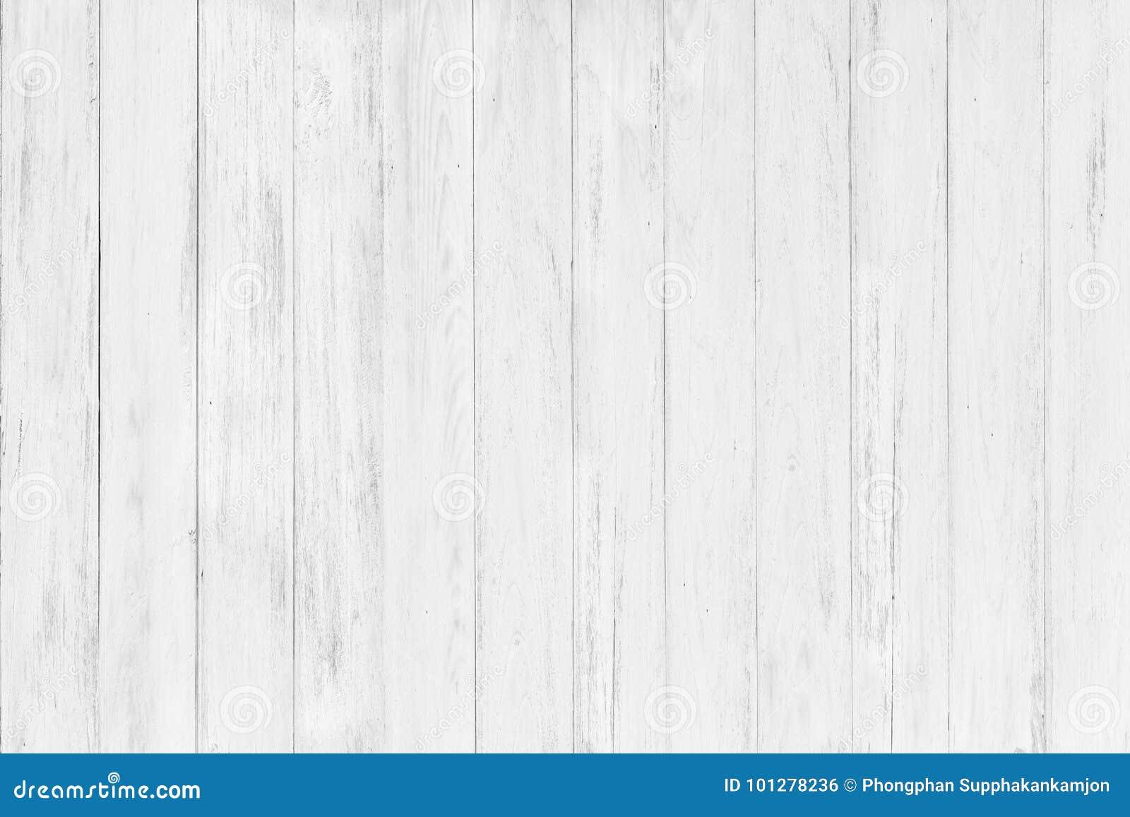 Fundo de madeira branco de superfície rústico abstrato da textura da tabela clo