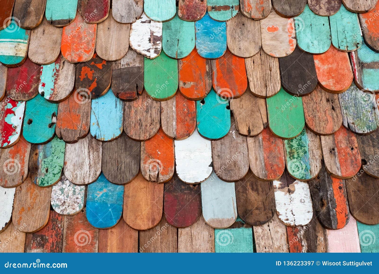 Fundo de madeira da textura do grunge abstrato