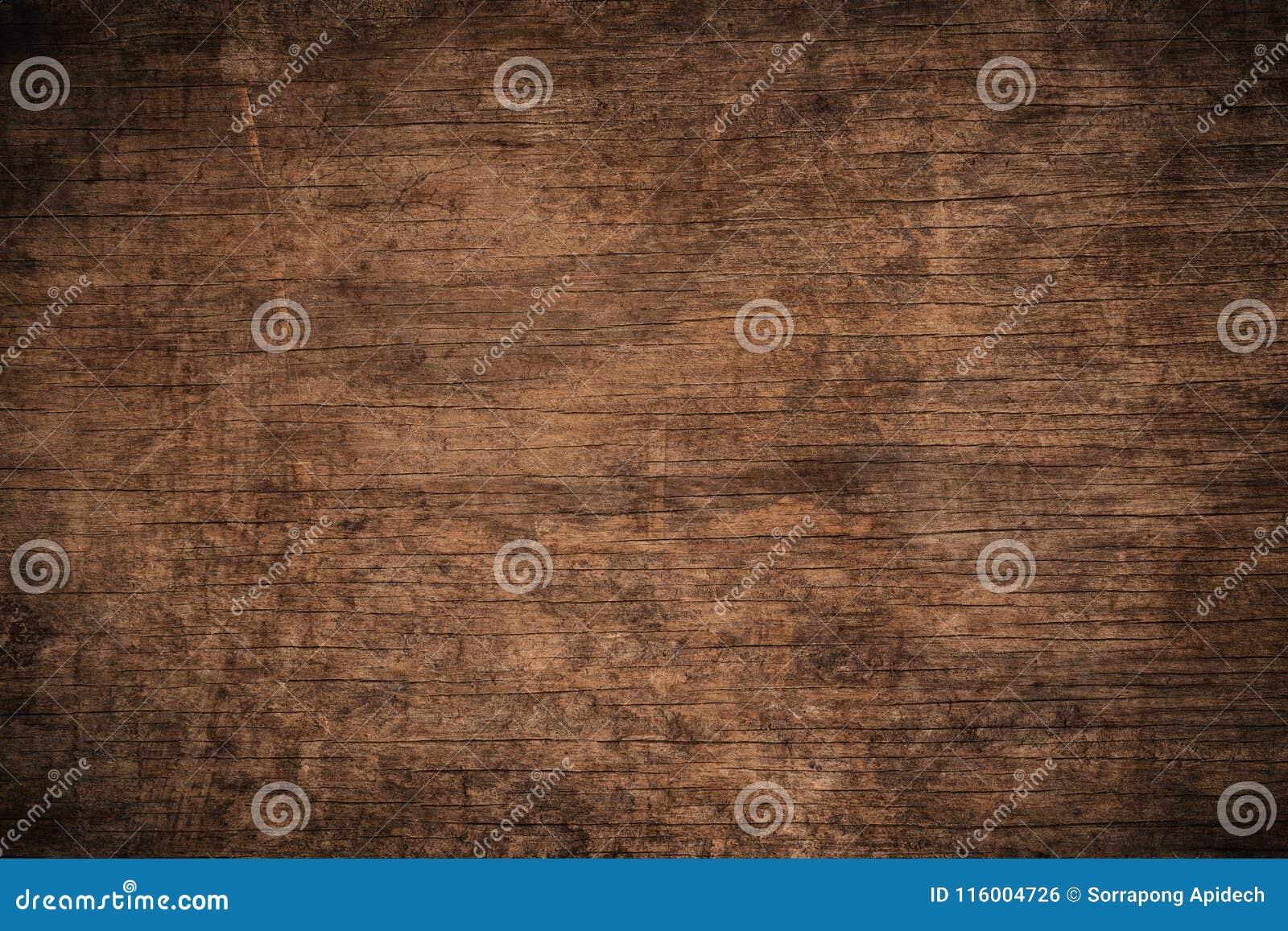 Fundo de madeira textured escuro do grunge velho, a superfície da textura de madeira marrom velha, paneling de madeira do marrom