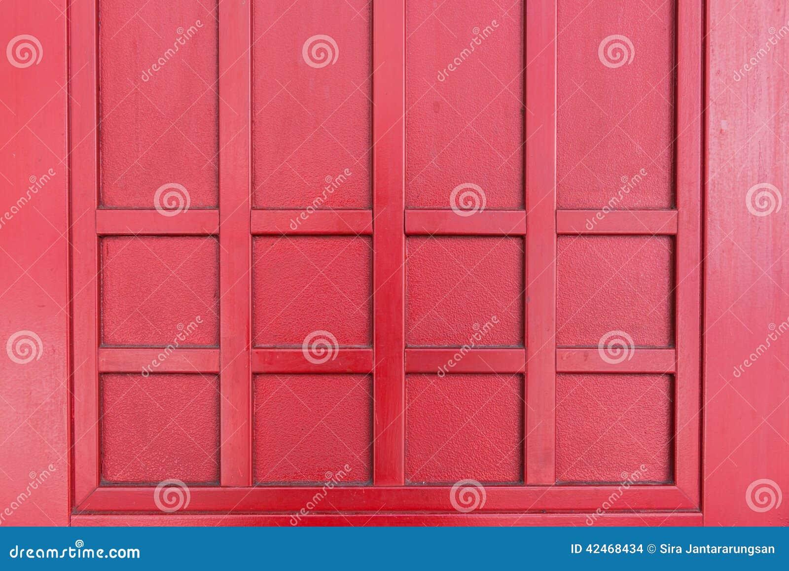 Fundo de madeira vermelho da textura
