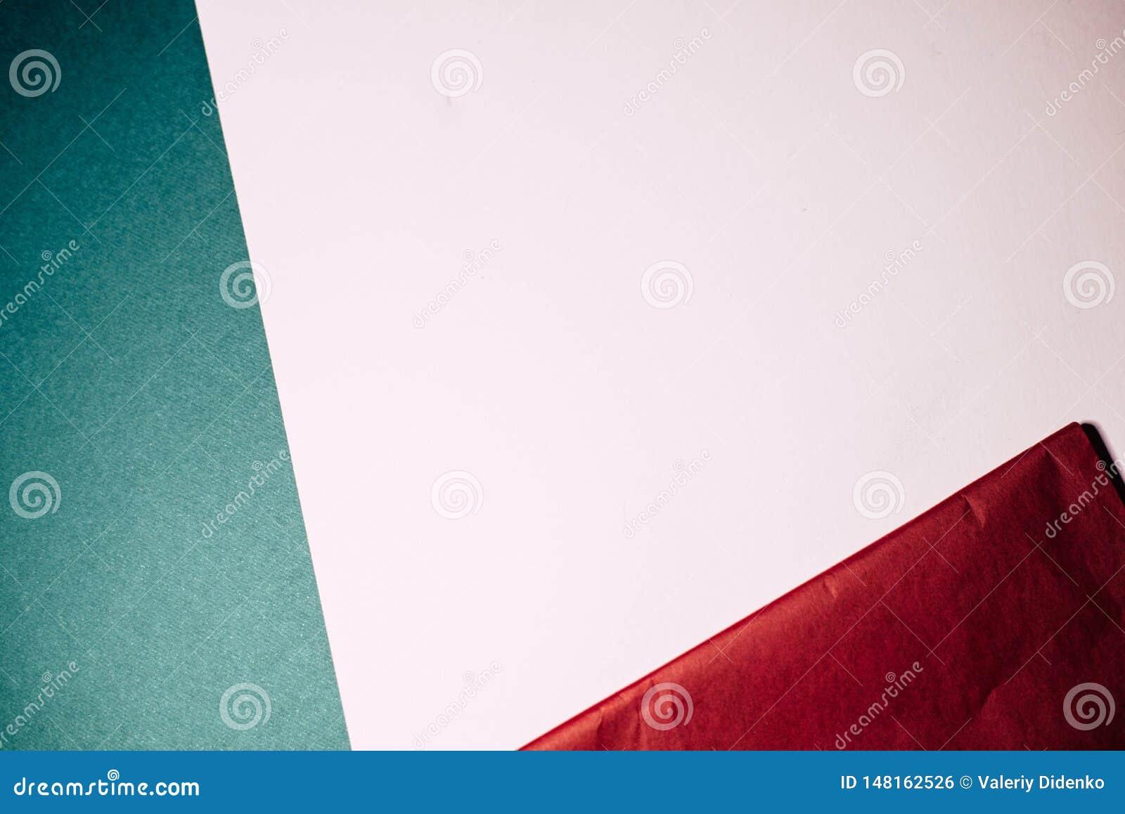 Fundo de papel Multi-colorido