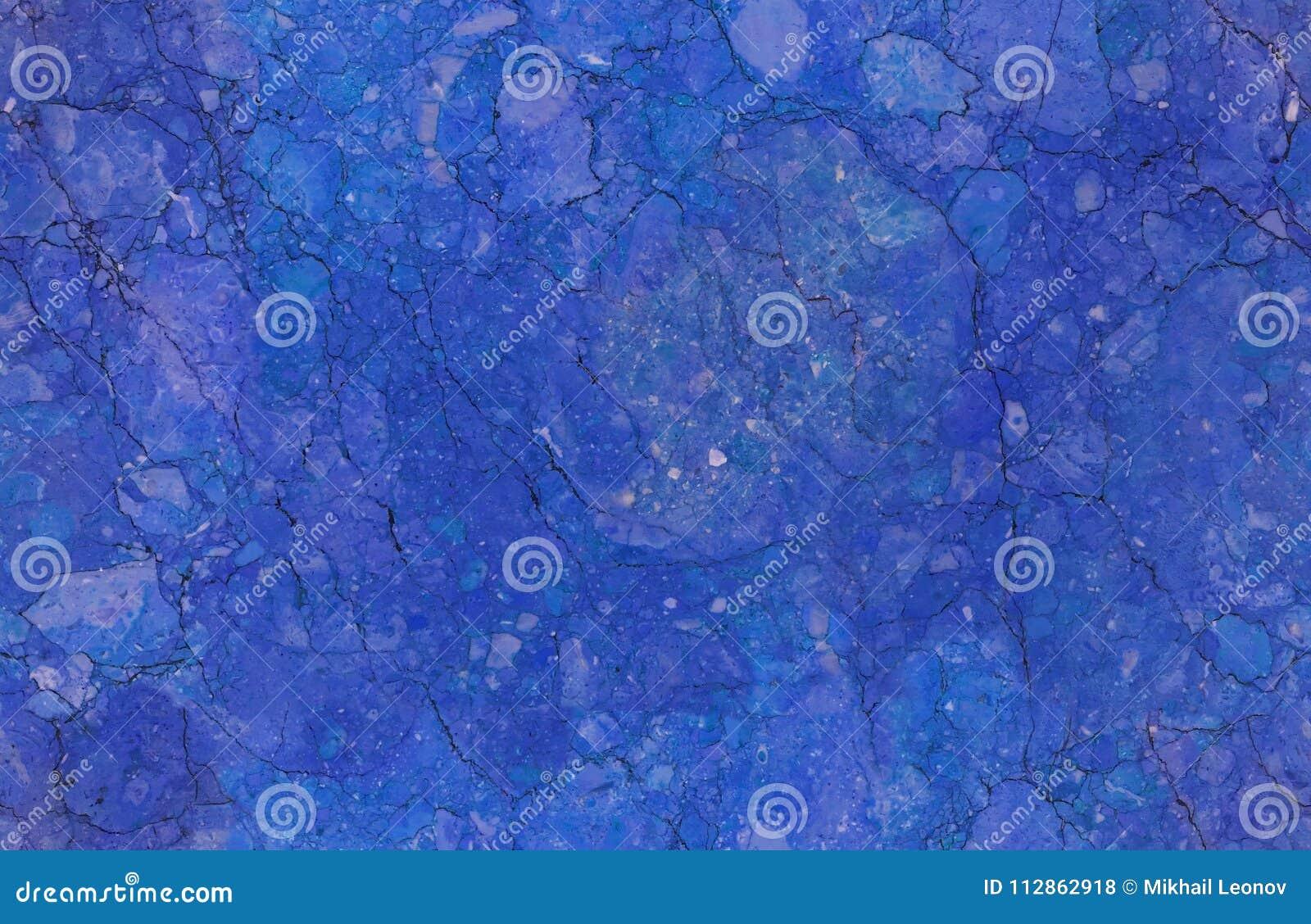 a227970aad2e Fundo de pedra de mármore sem emenda natural azul do teste padrão da textura  Superfície de