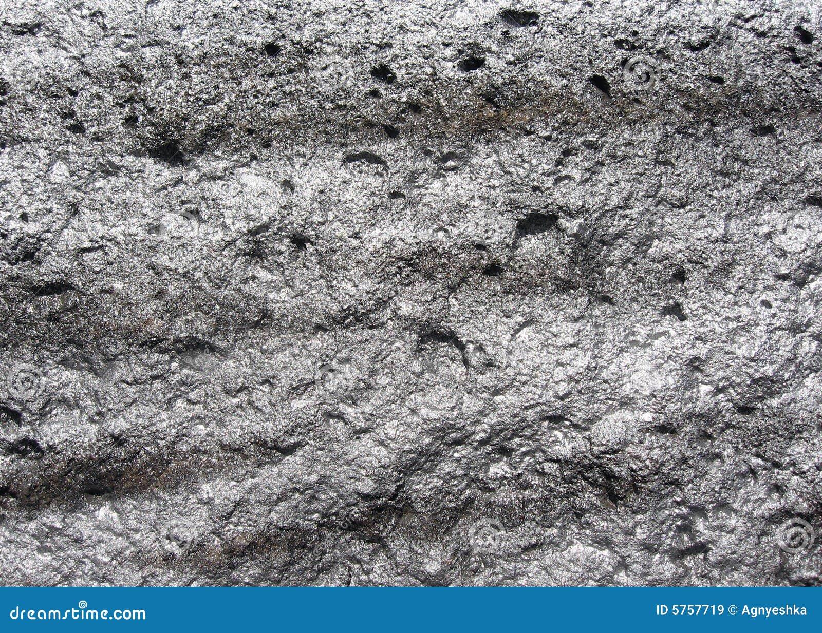 Fundo de prata Sparkly da rocha