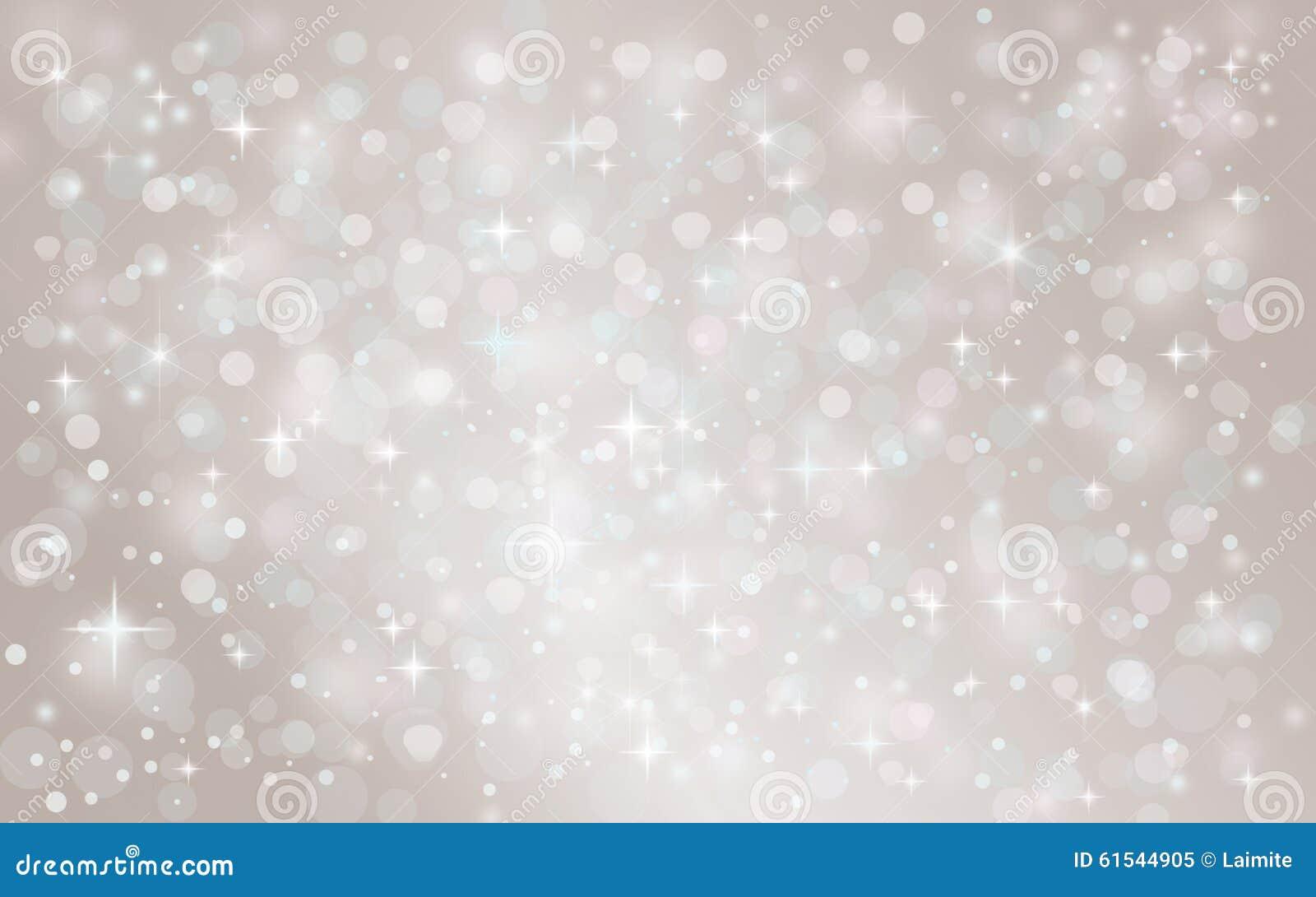 Fundo de queda do feriado do Natal do inverno da neve abstrata de prata
