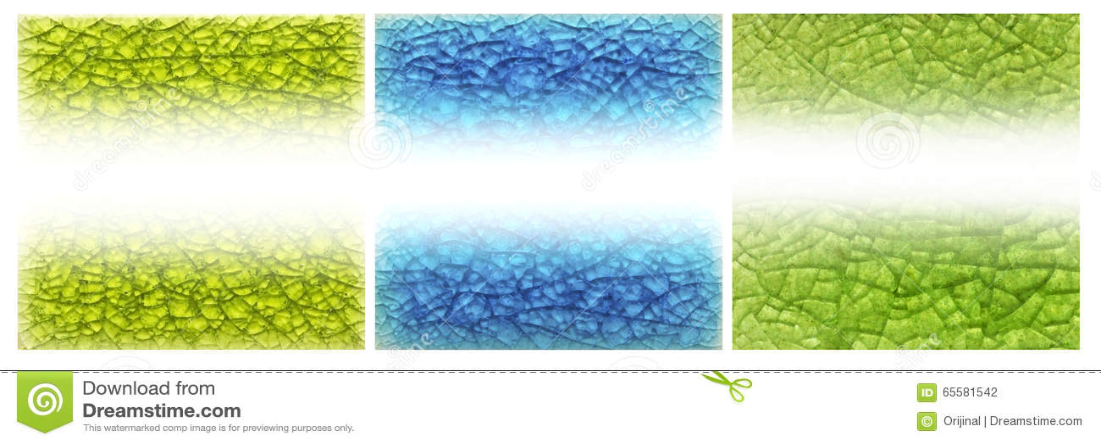 Fundo de vidro abstrato, rachado