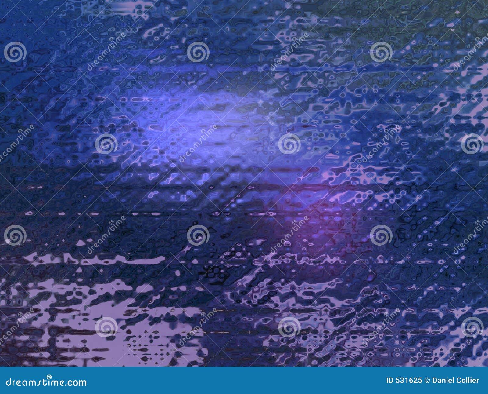 Fundo de vidro azul