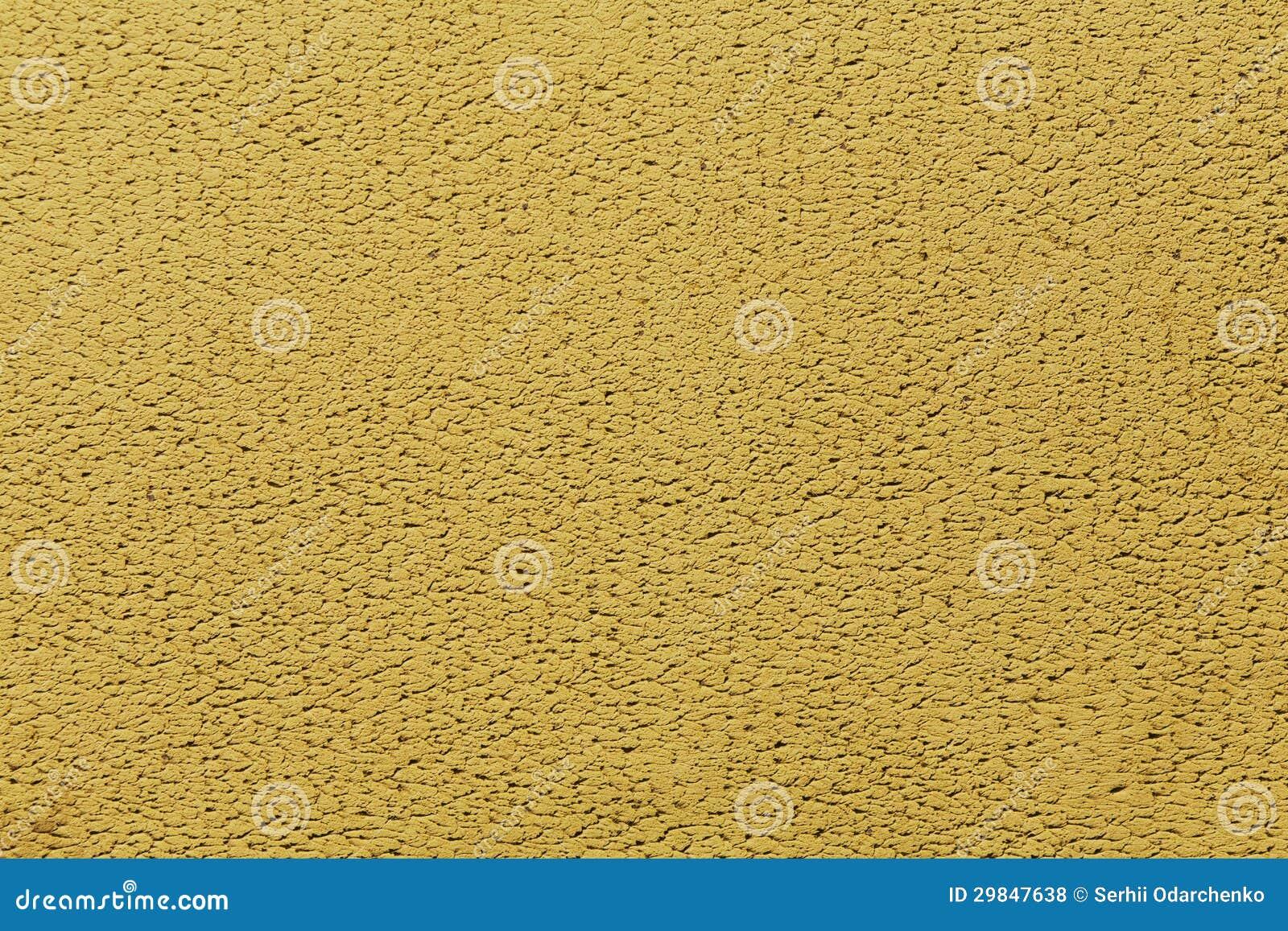 Fundo amarelo da parede do emplastro