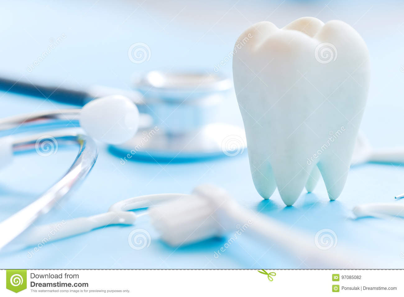 Fundo dental da higiene